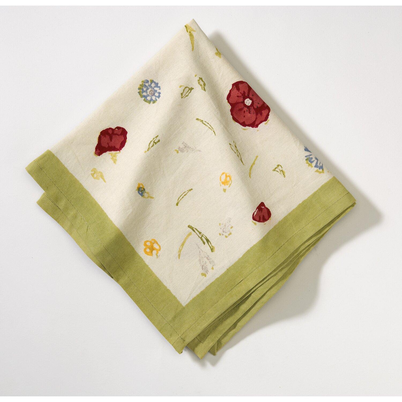 couleur nature springfields napkin reviews wayfair. Black Bedroom Furniture Sets. Home Design Ideas