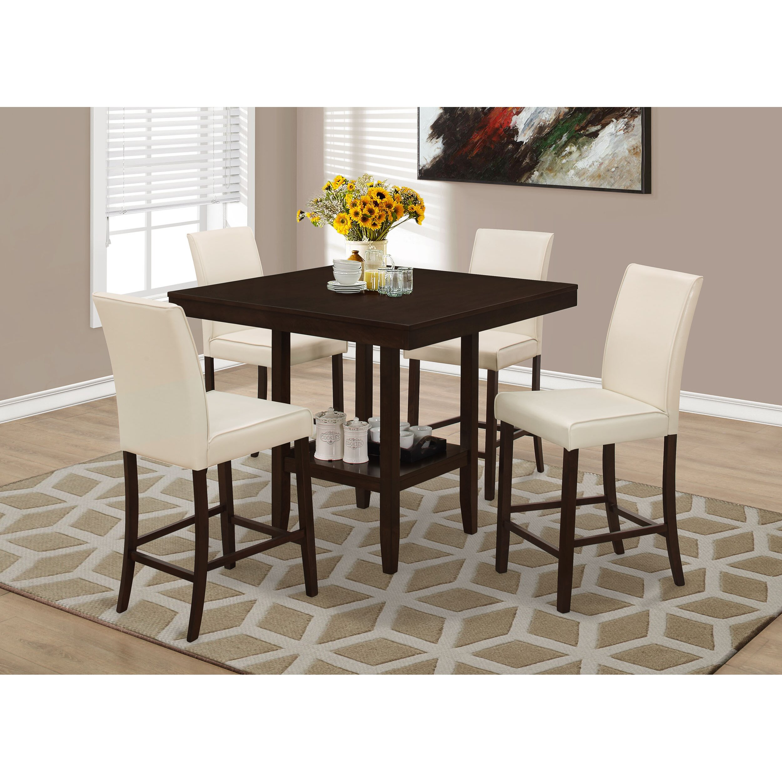 Monarch Specialties Inc Counter Height Dining Table  : Monarch Specialties Inc Counter Height Dining Table from www.wayfair.com size 2500 x 2500 jpeg 833kB