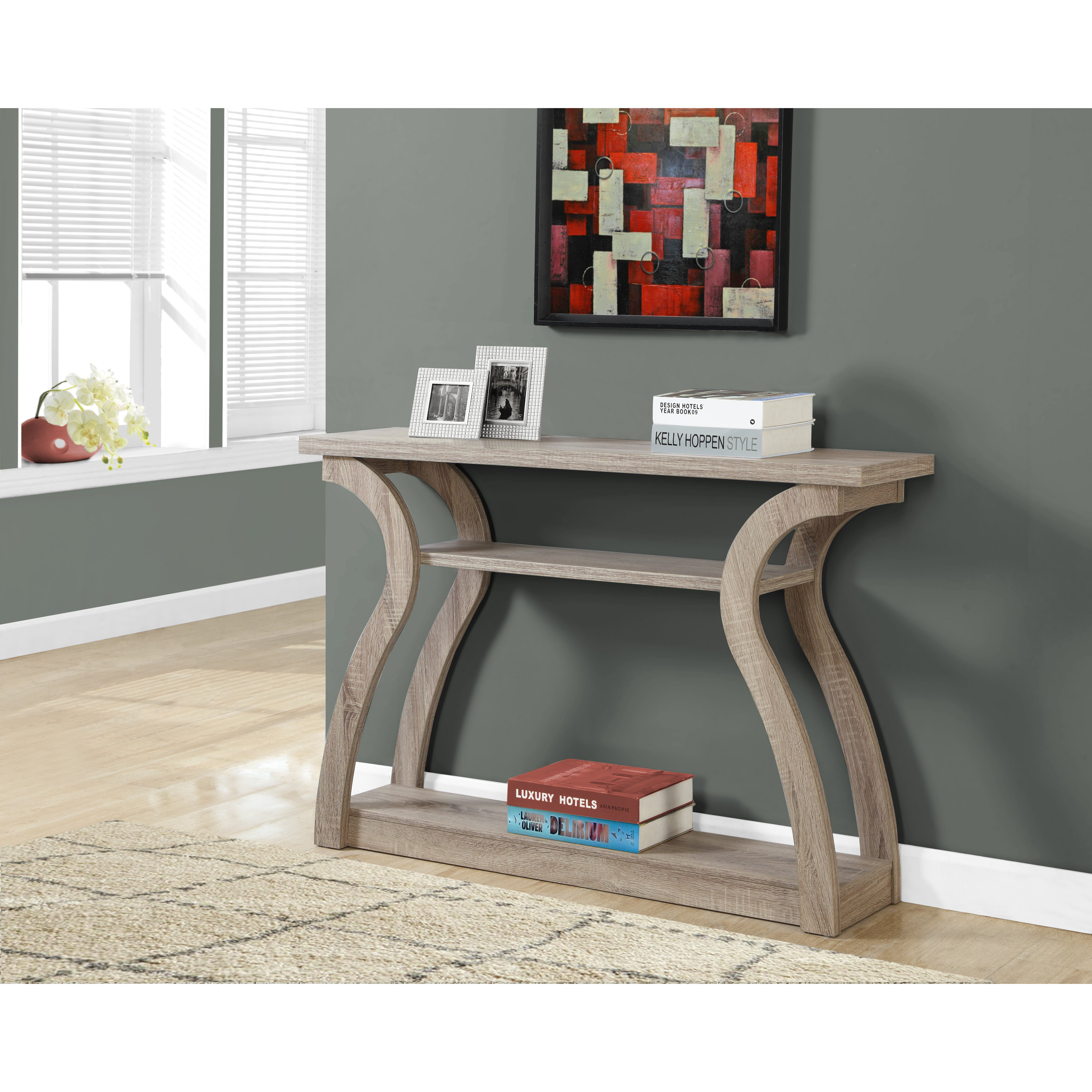 15 Entrance Hall Table Styles To Marvel At: Monarch Specialties Inc. Console Table & Reviews