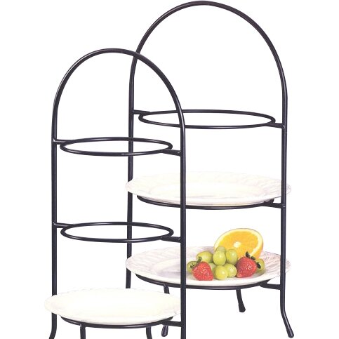 Creative Home Iron Works  Tier Dessert Plate Rack