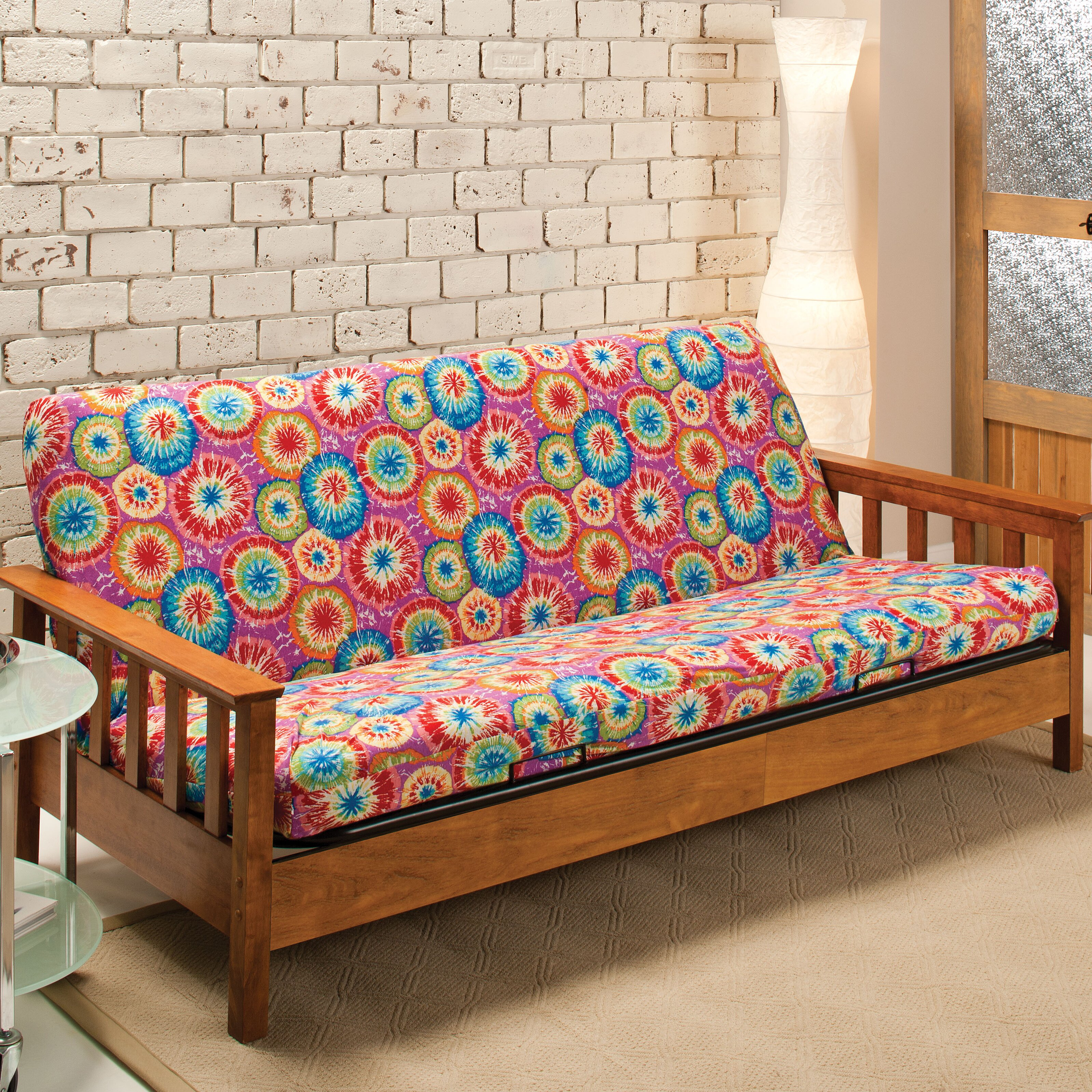 Madison Home Patterned Florence Futon Slipcover. Madison Home Patterned Florence Futon Slipcover   Reviews   Wayfair