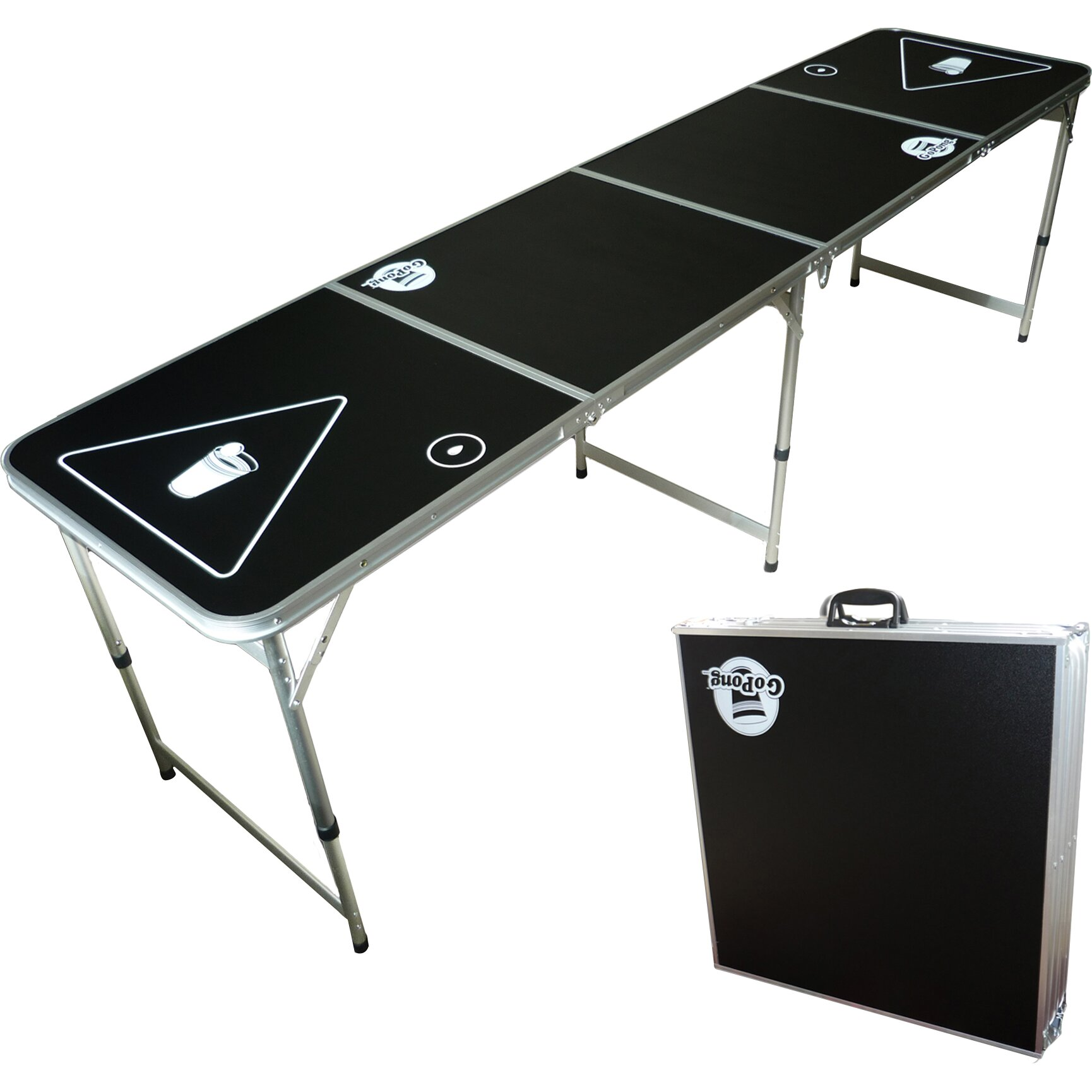 Beer pong table dimensions - Beer Pong Table Dimensions Beer Pong Regulation Table Dimensions Gopong Portable Beer Pong Table