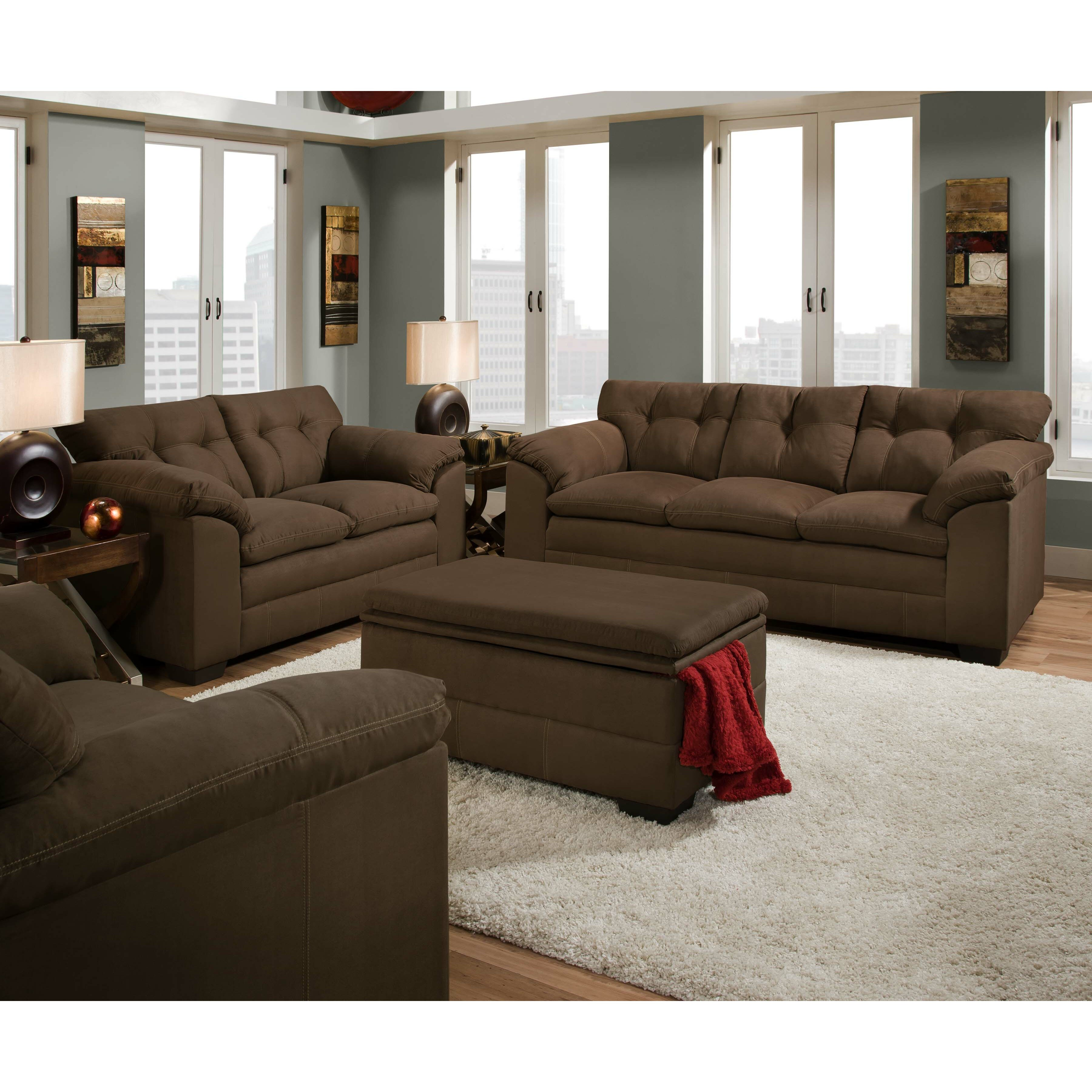 Simmons Top Living Room Furniture
