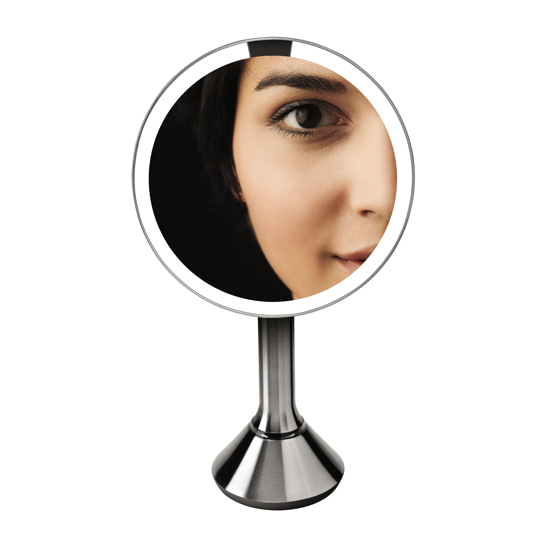 Simplehuman Sensor Activated Lighted Vanity Mirror 5x