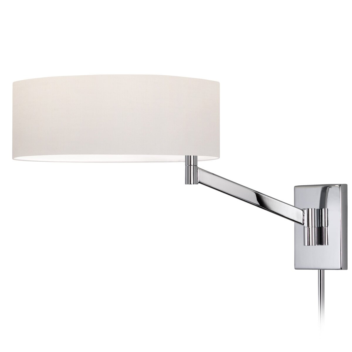 sonneman perch swing arm one light wall lamp reviews wayfair
