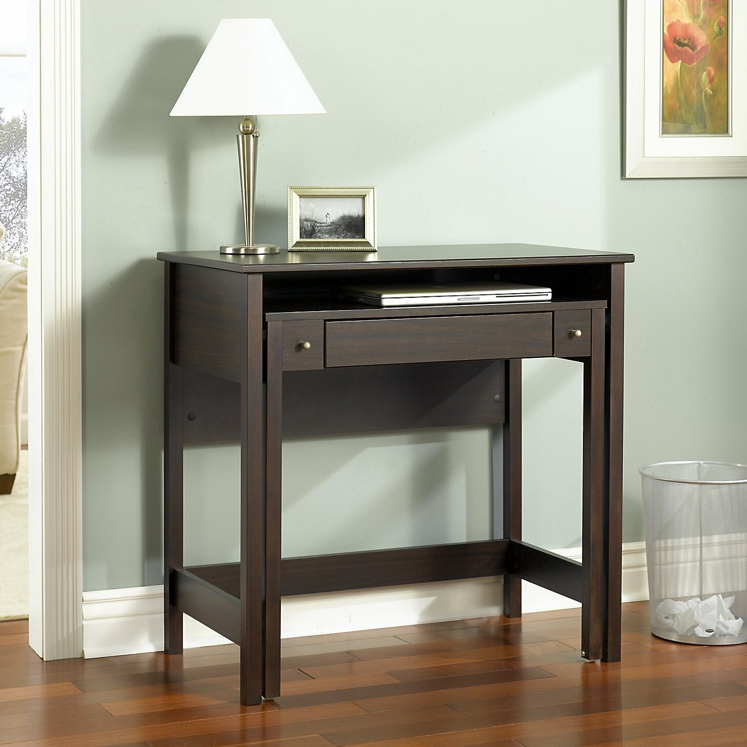 Bush Furniture Pull Out Computer Desk  Reviews  Wayfair
