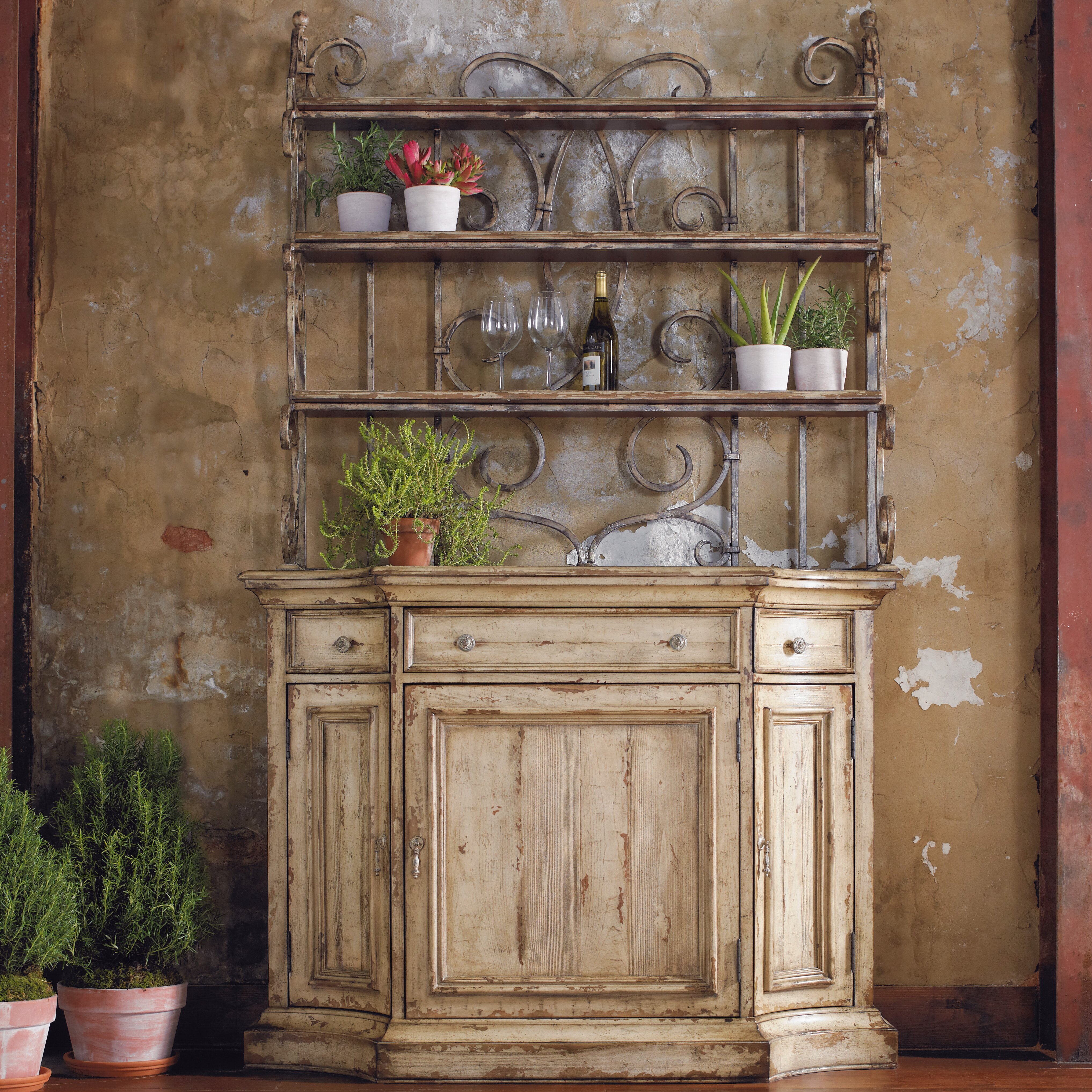 China Cabinet With Hutch Hooker Furniture Wakefield China Cabinet Reviews Wayfair