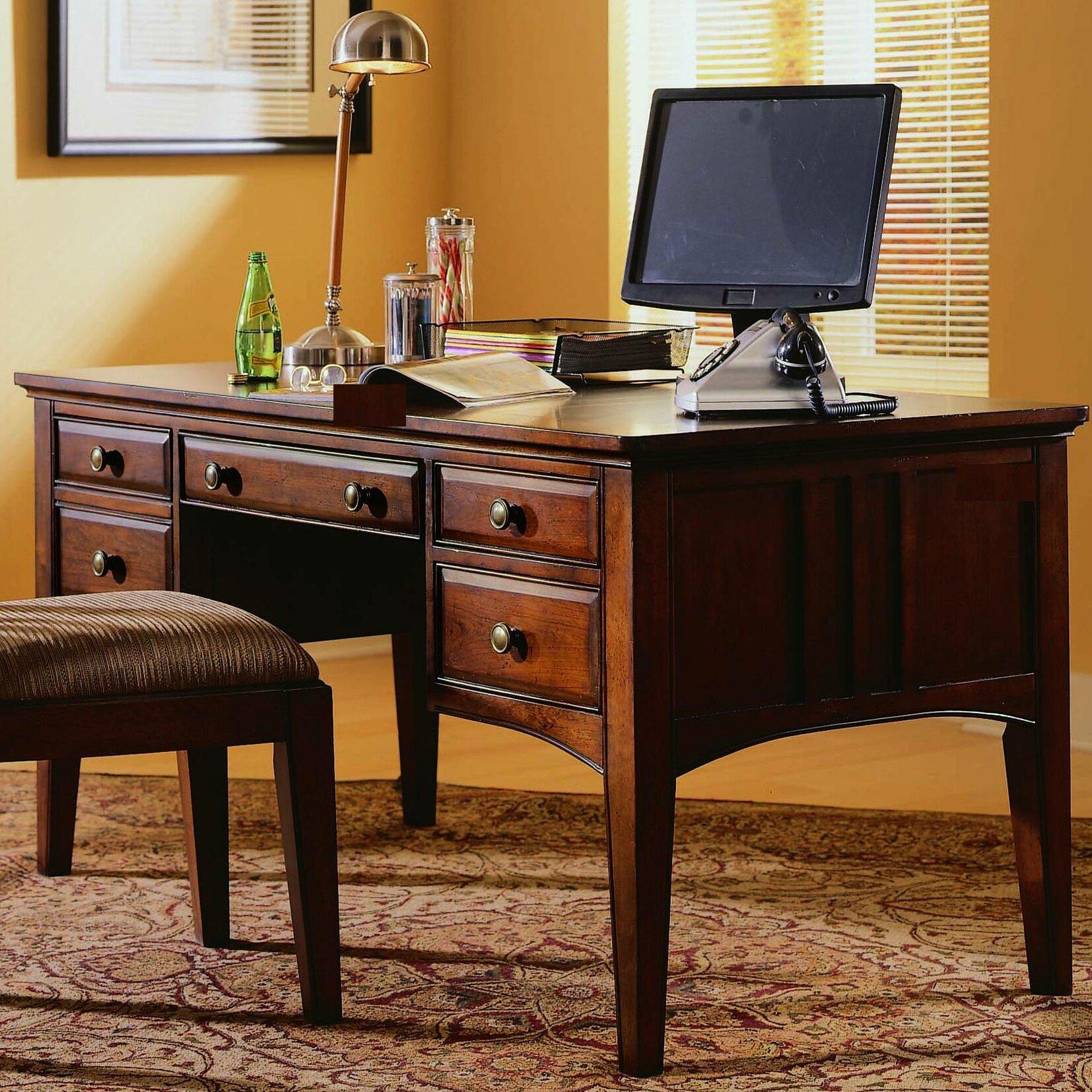 hooker furniture bedford row keyboard tray executive desk
