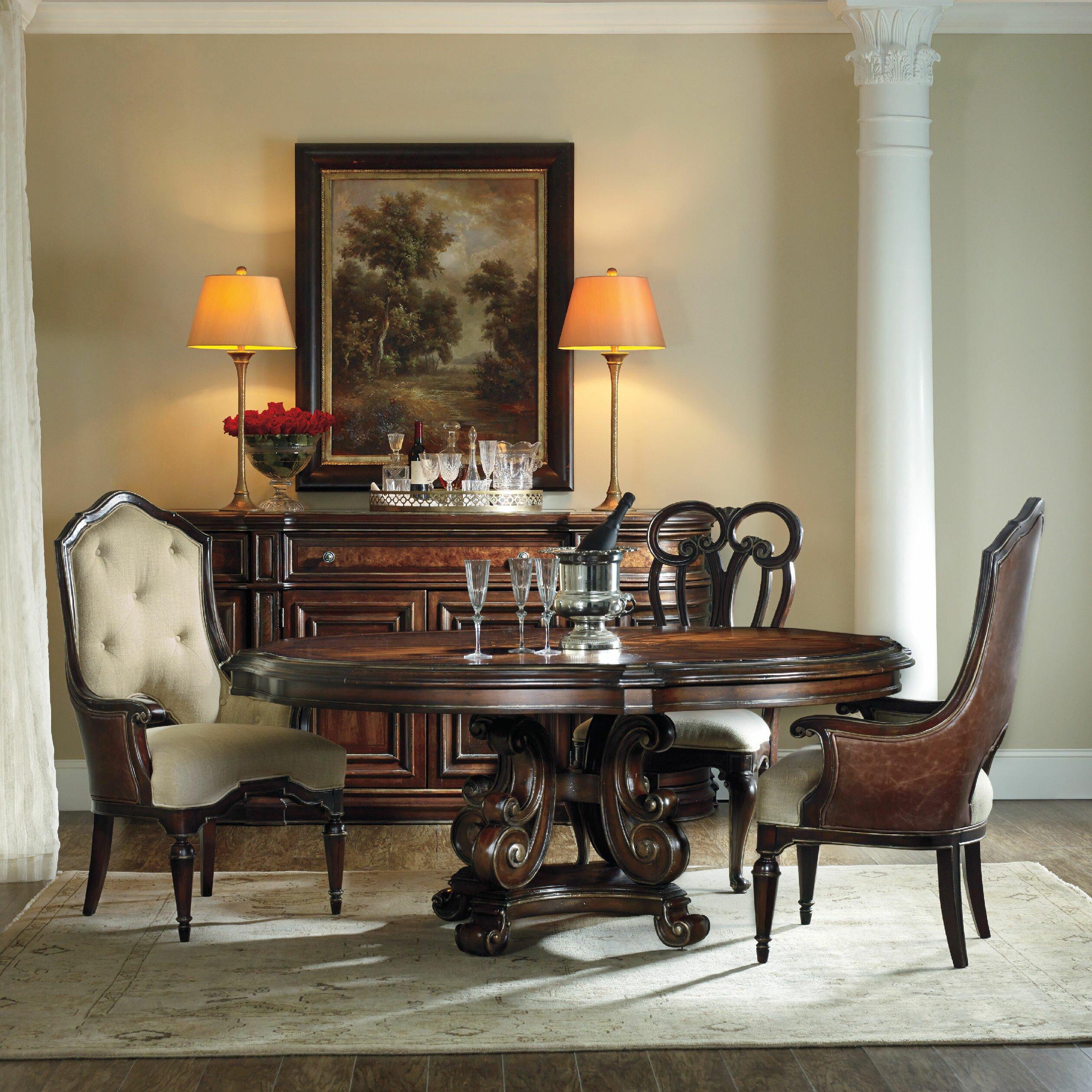 hooker furniture grand palais dining table wayfair