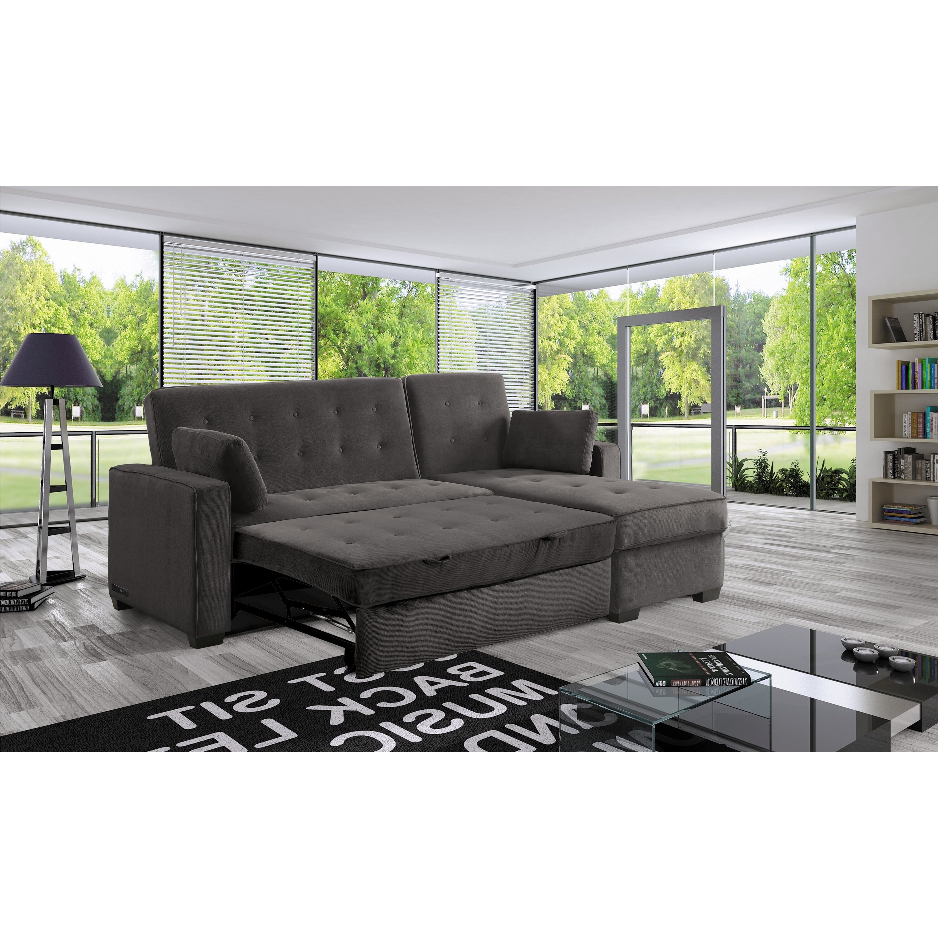 futon sectional sofa