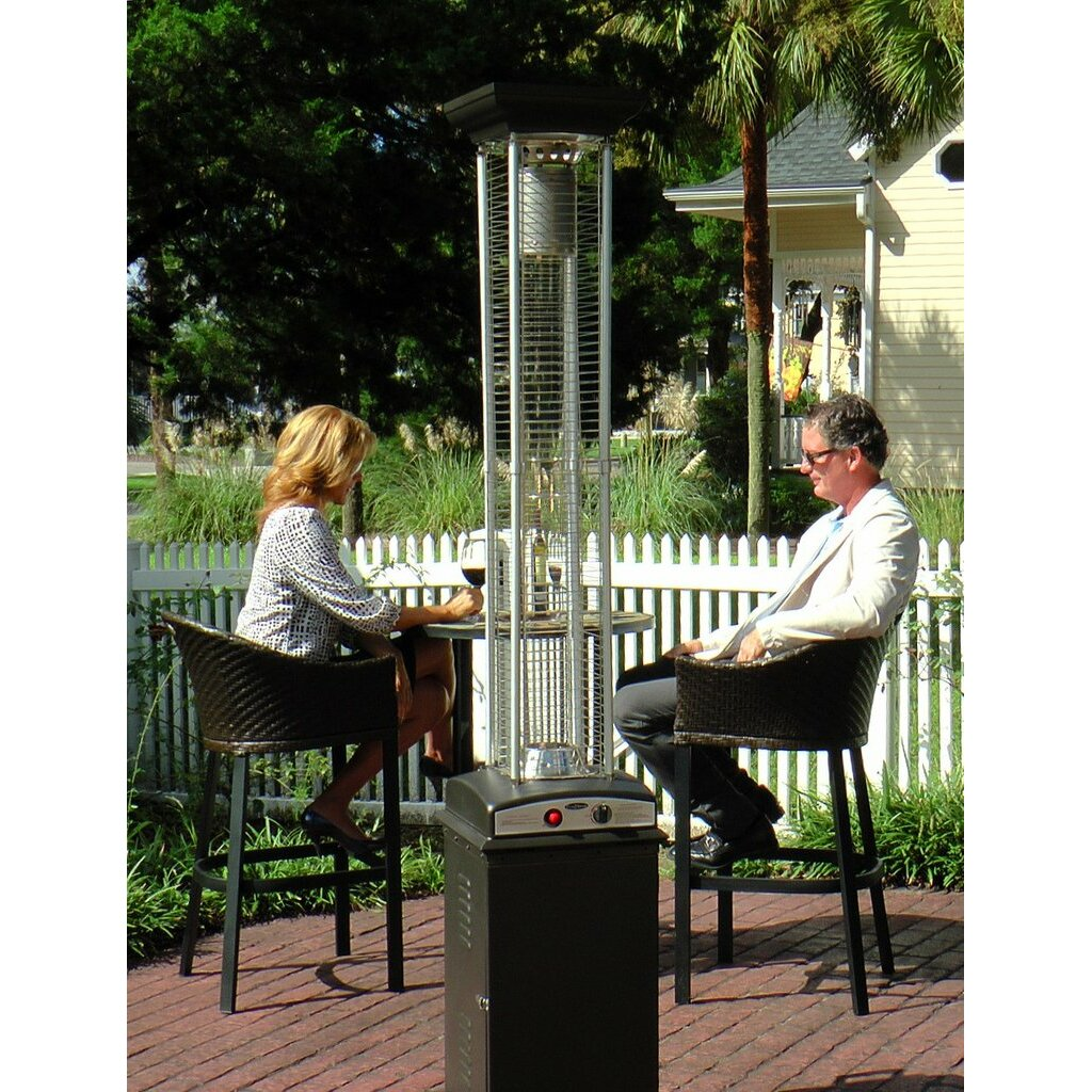 Fire Sense Flame 46000 BTU Propane Patio Heater Reviews – Fire Sense Patio Heater