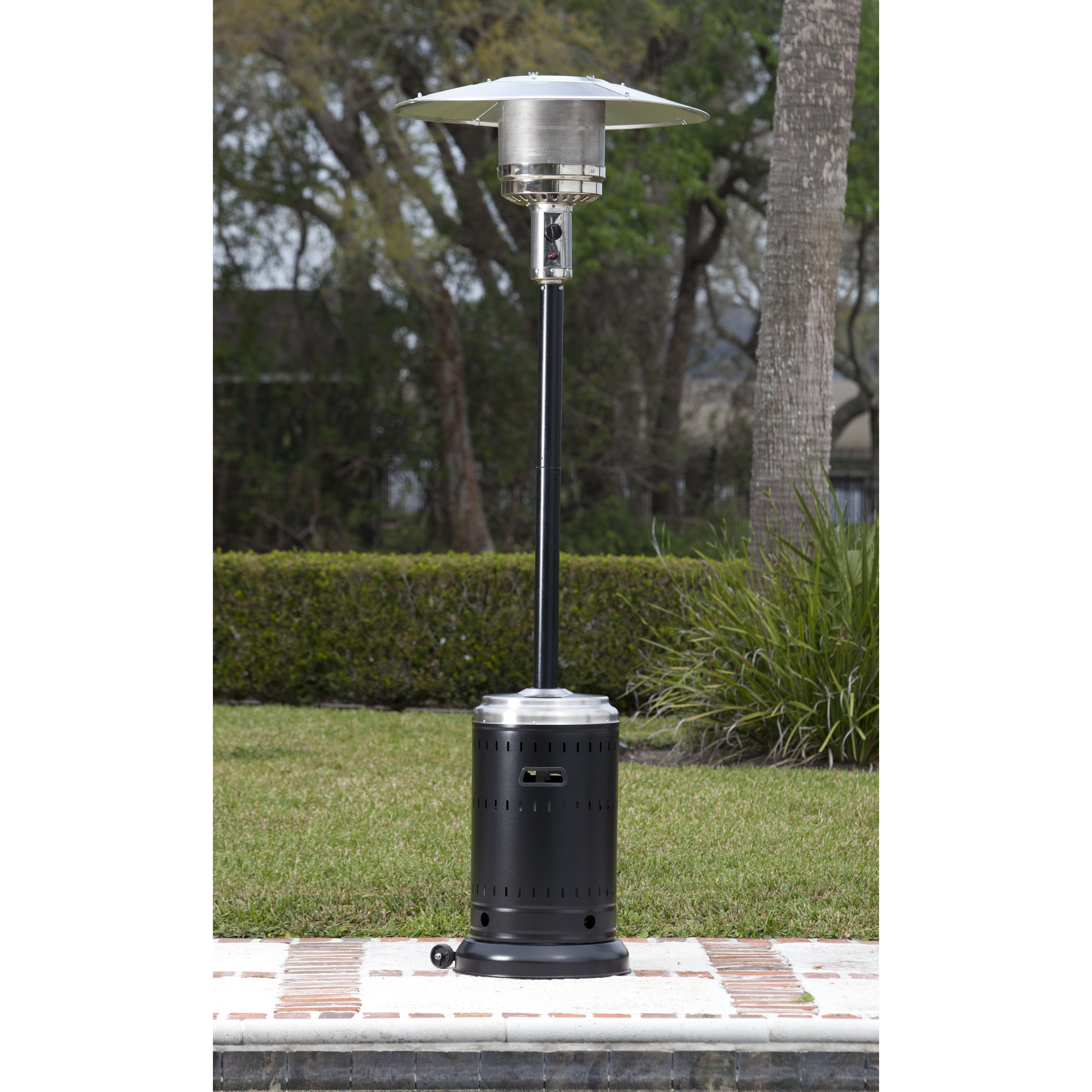 Fire Sense Hammer Tone Stainless Steel Commercial 46000 BTU – Fire Sense Patio Heater