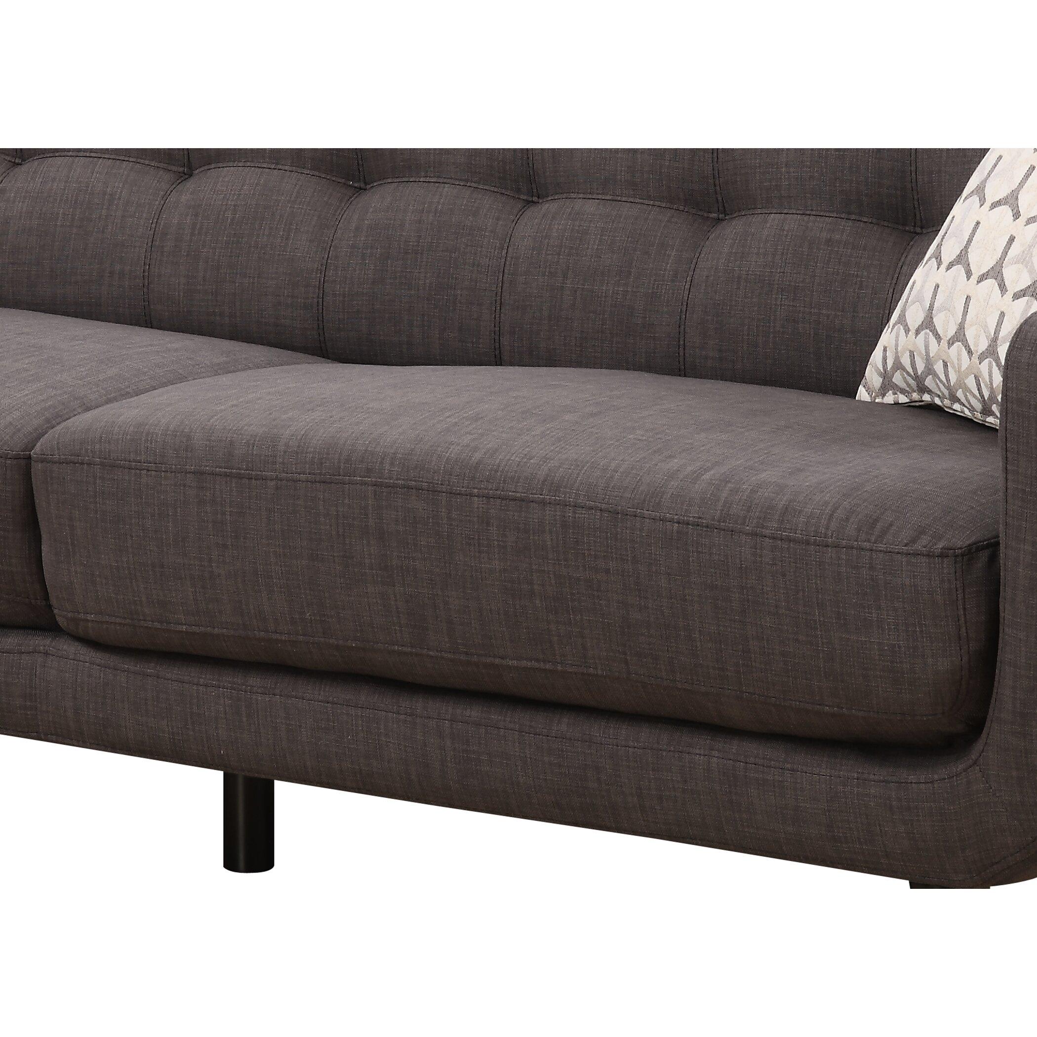 AC Pacific Crystal Mid Century Sofa & Reviews