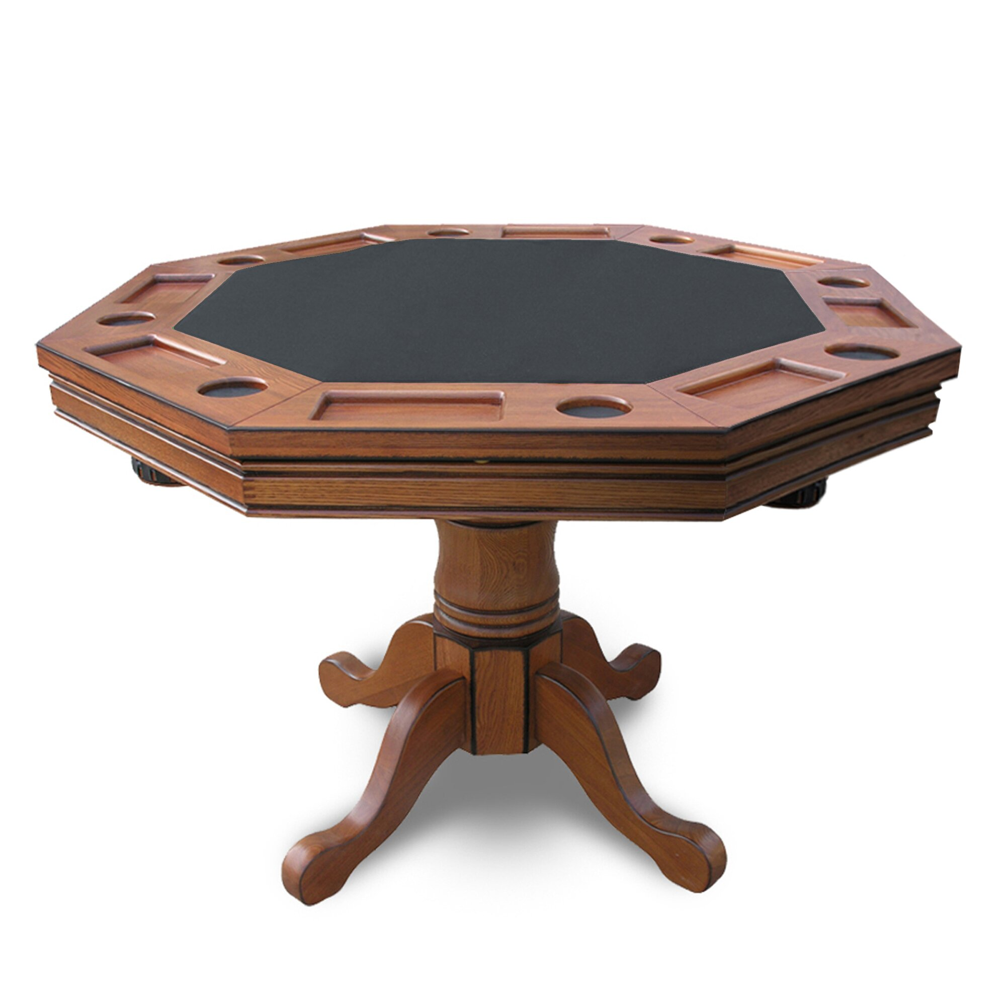hathaway games kingston in poker table  reviews  wayfair, Dining tables