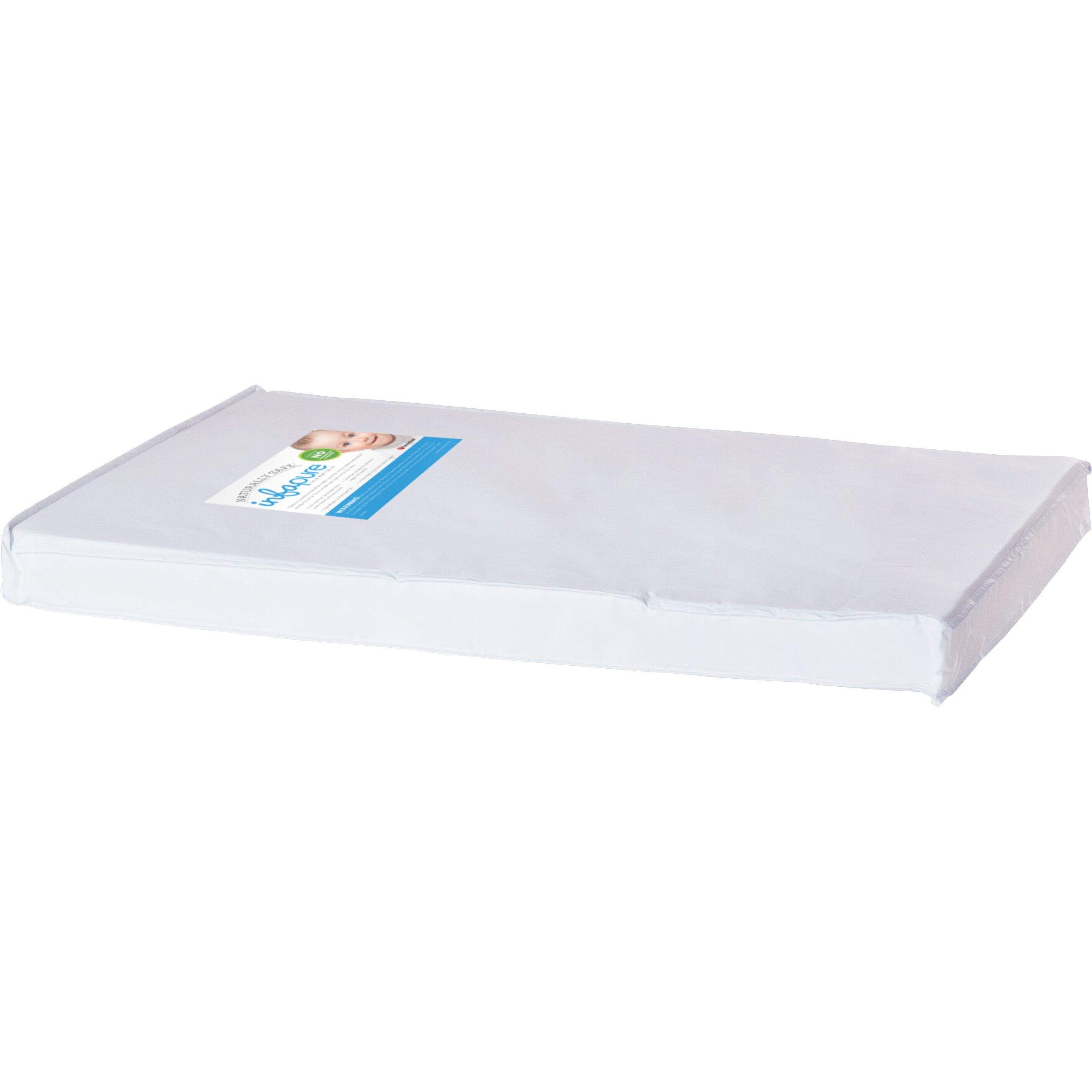 Crib mattress - Foundations Infapure 3 Quot Compact Crib Mattress