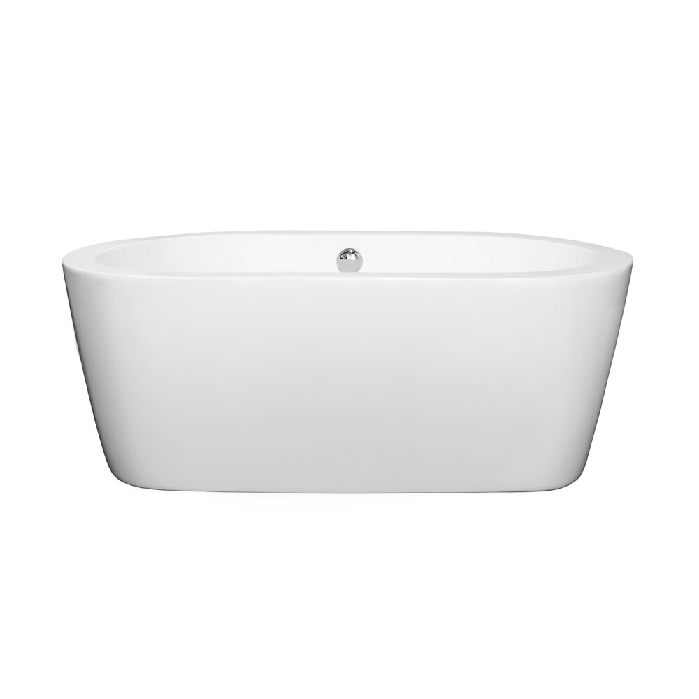 Freestanding Tubs Youll Love Wayfair - Free standing tub dimensions