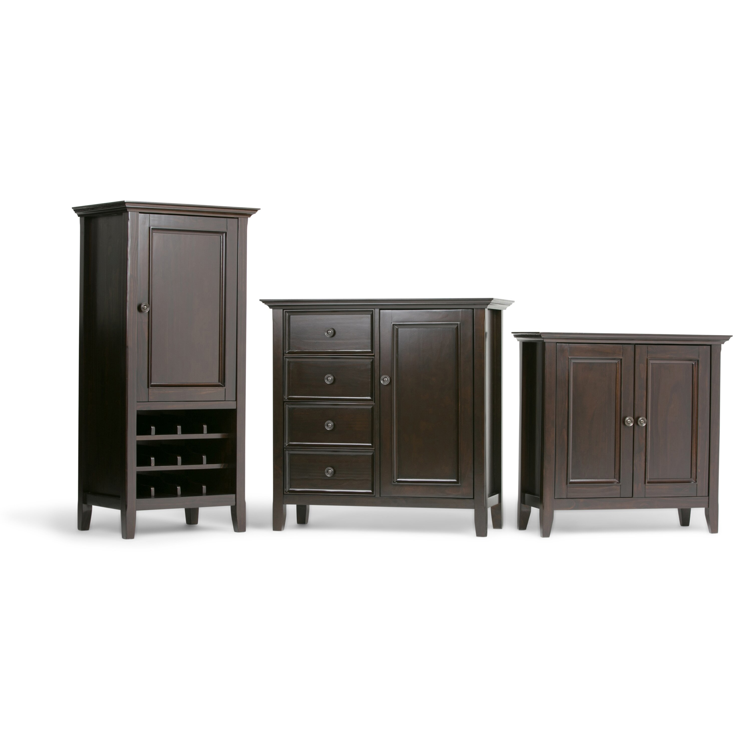 Simpli home amherst accent cabinet reviews wayfair for Accent housing