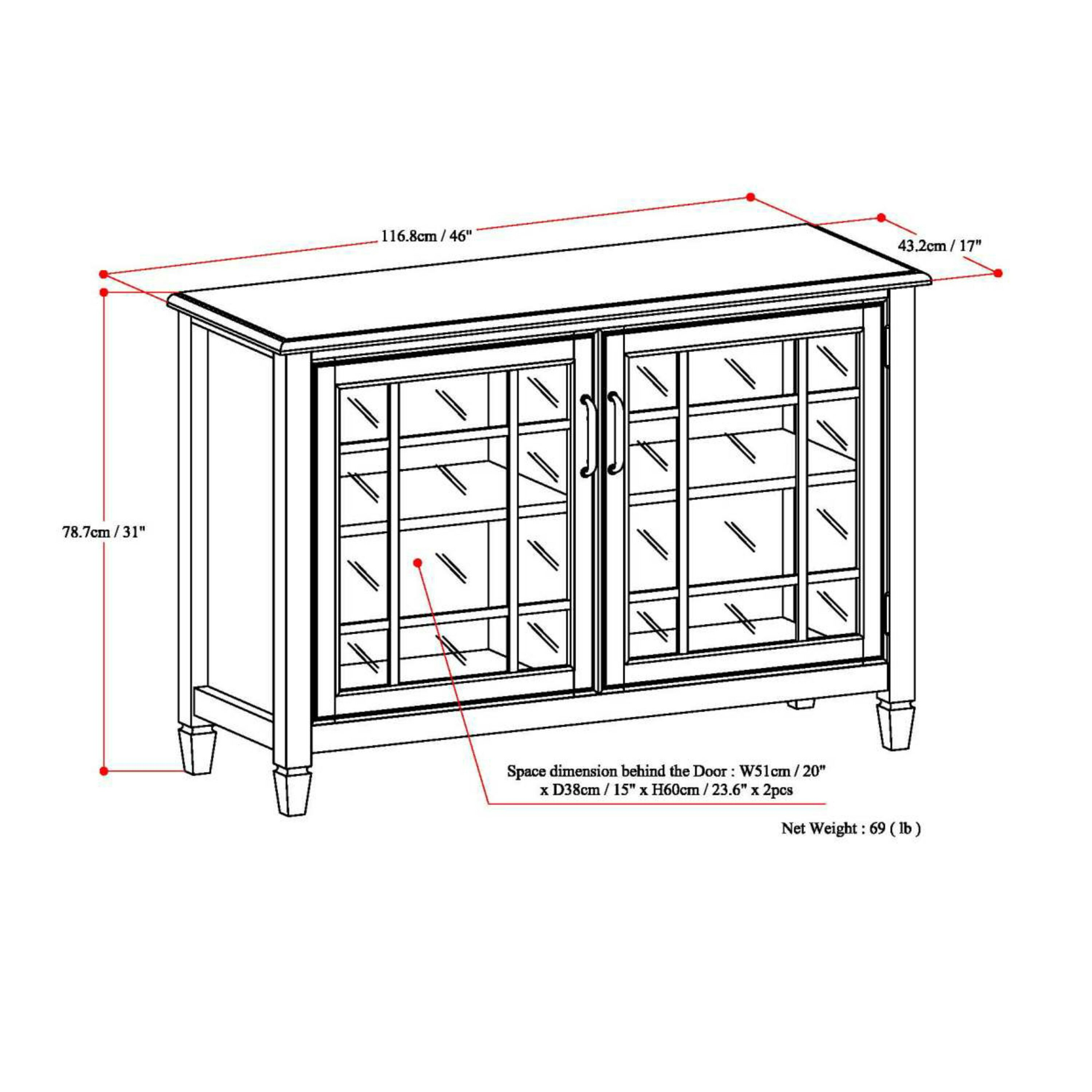 Low Storage Cabinet Simpli Home Connaught 2 Door Low Storage Cabinet Reviews Wayfair