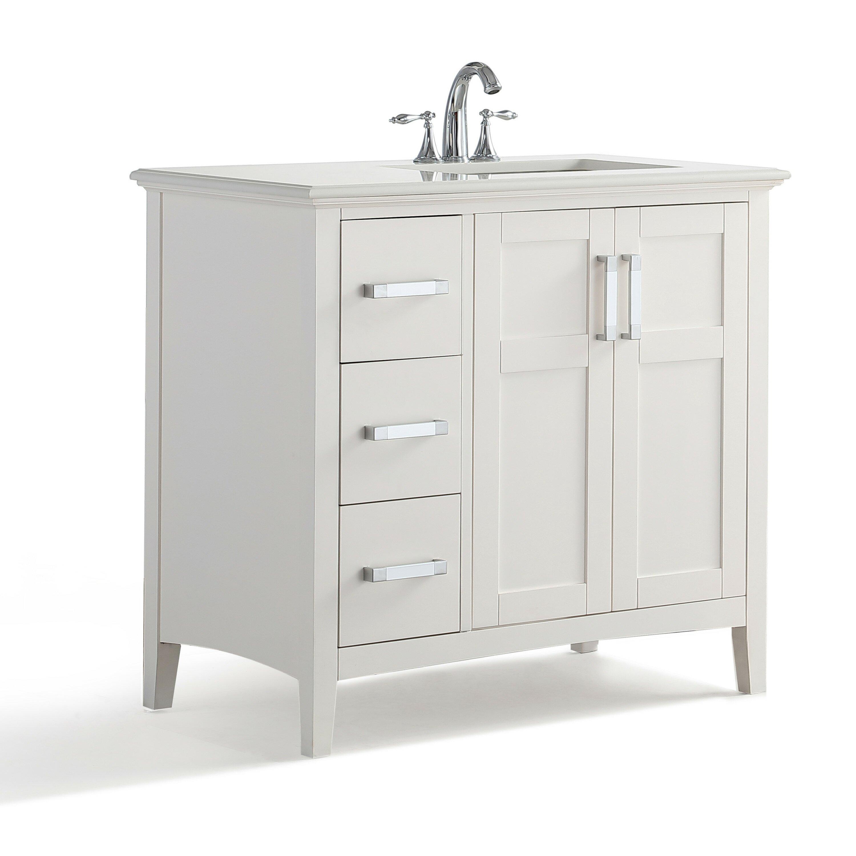Bathroom Vanities Woodbridge Right Offset Vanity Wayfair