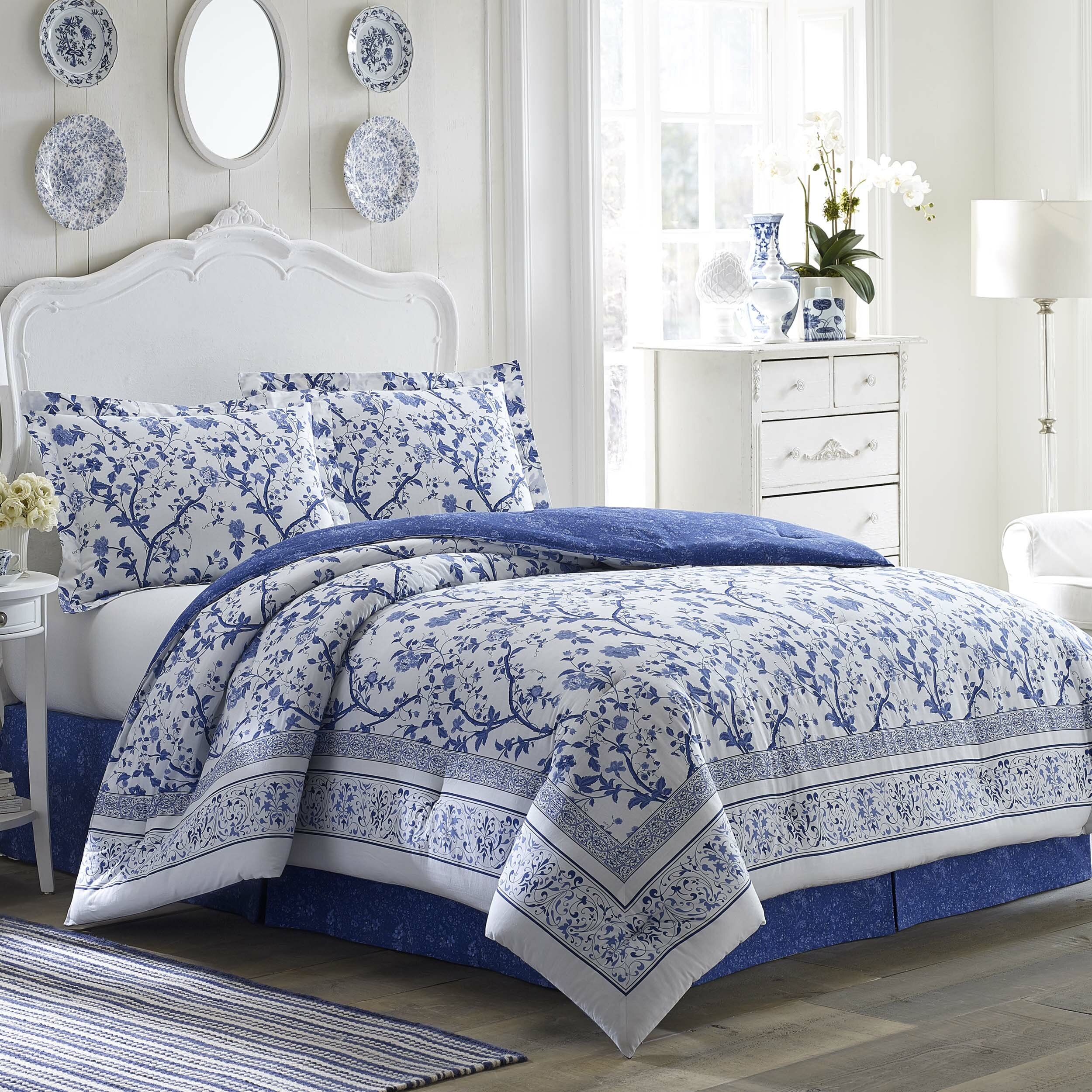 Laura Ashley Bedroom Laura Ashley Bedding Charlotte Comforter Collection Reviews
