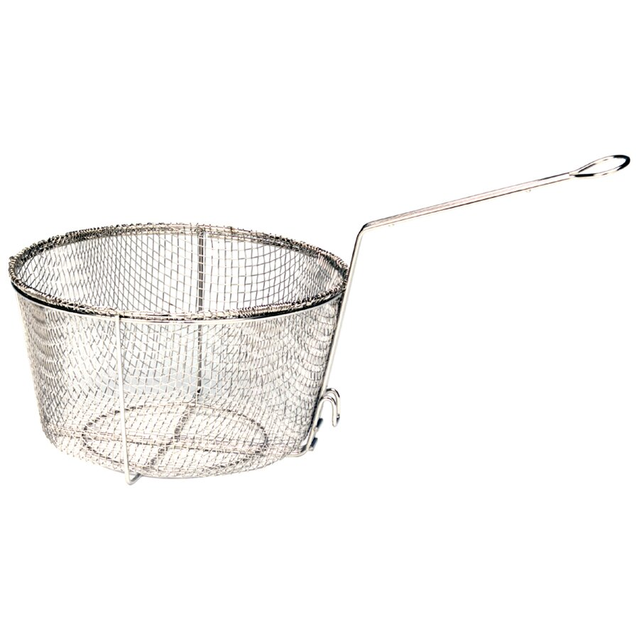 Bayou Classic Nickel Plated Fry Basket Amp Reviews Wayfair