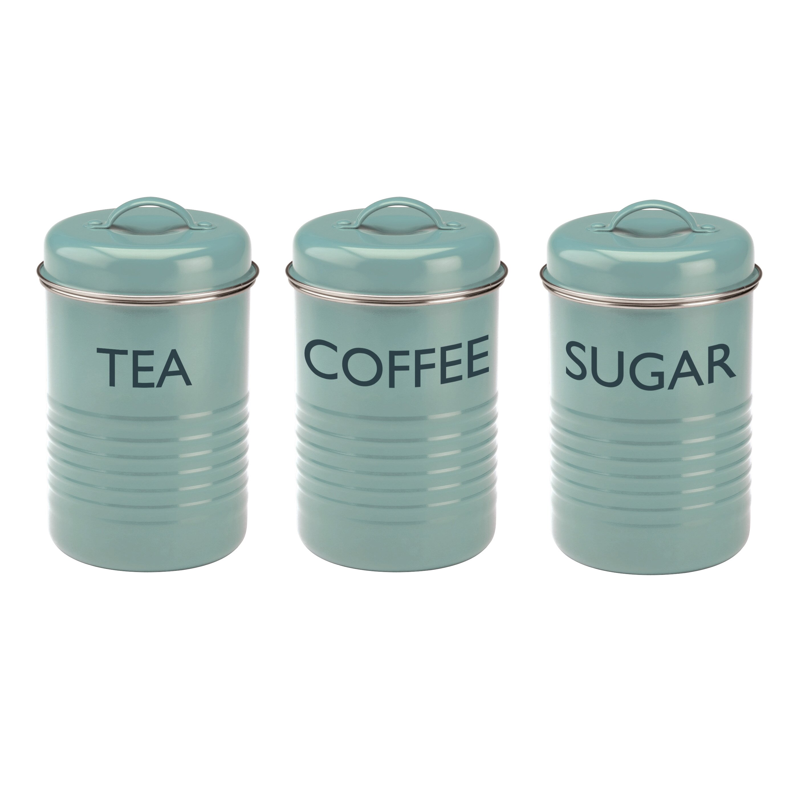 Green Kitchen Canister Set Kitchen Canisters Wayfaircouk