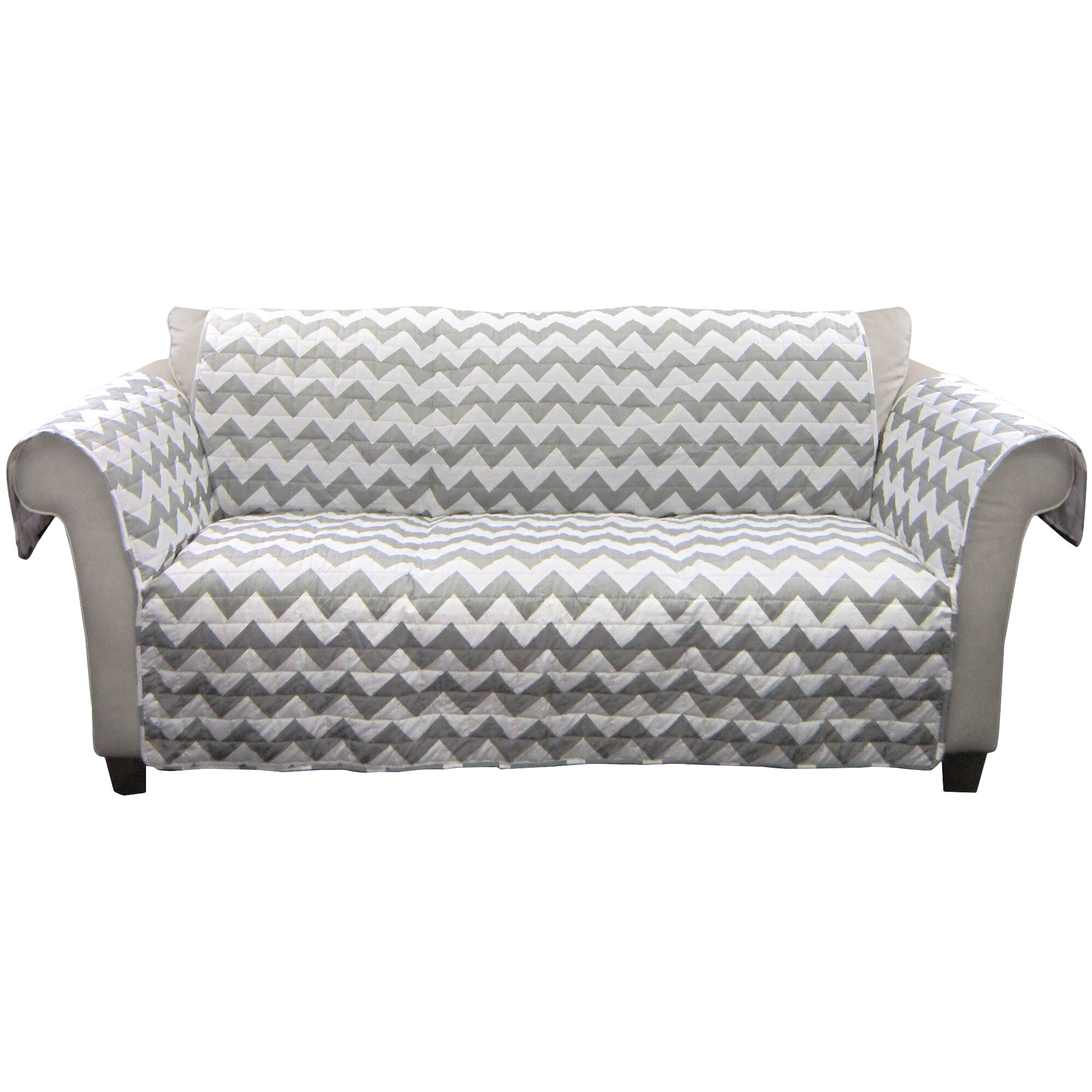 Lush Decor Chevron Sofa Protector Reviews Wayfair