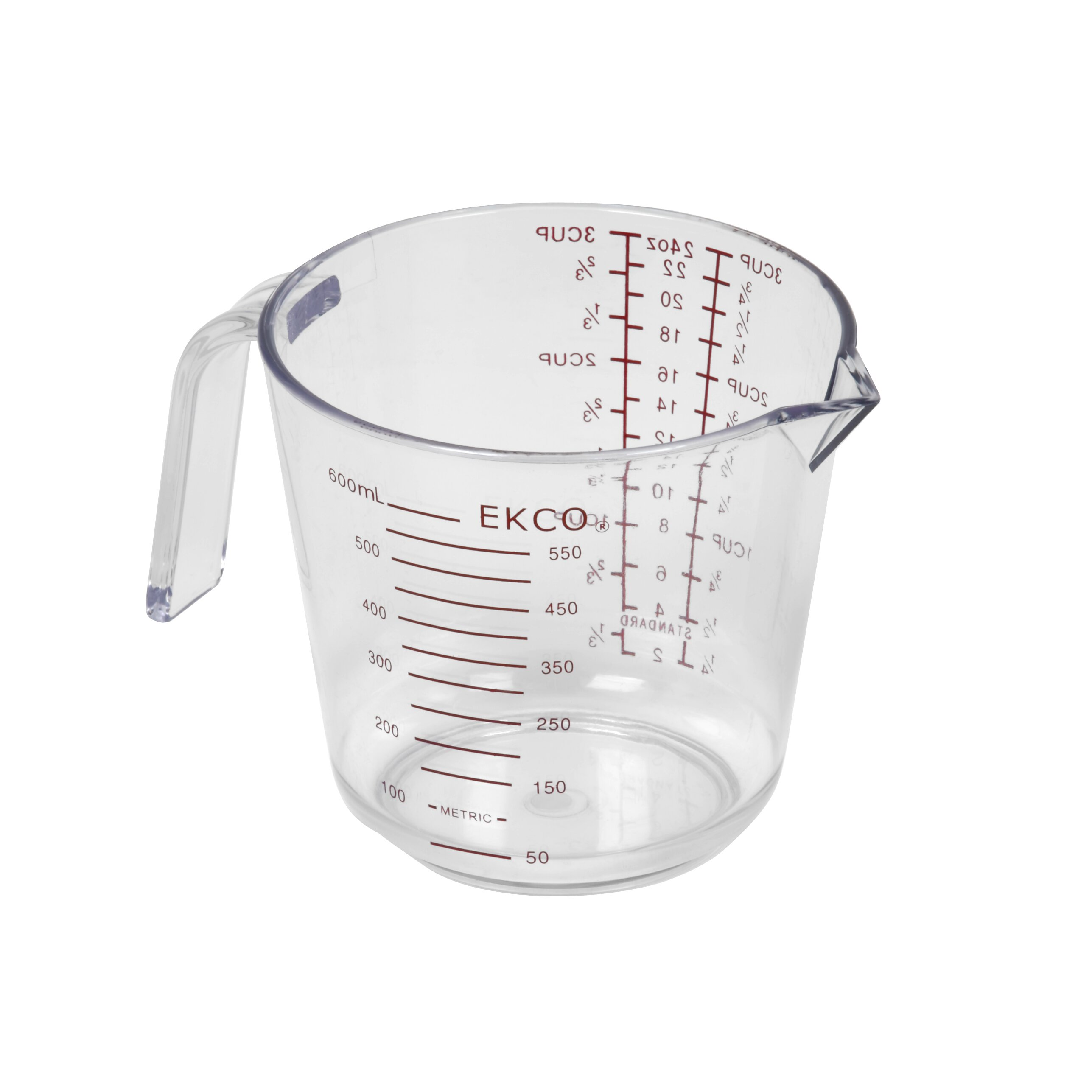 Decorative Measuring Spoons And Cups Ekco 3 Cup Plastic Measuring Cup Reviews Wayfair