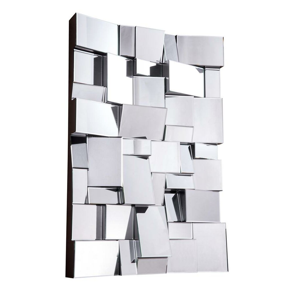 Modern Vertical Rectangle Wall Mirror