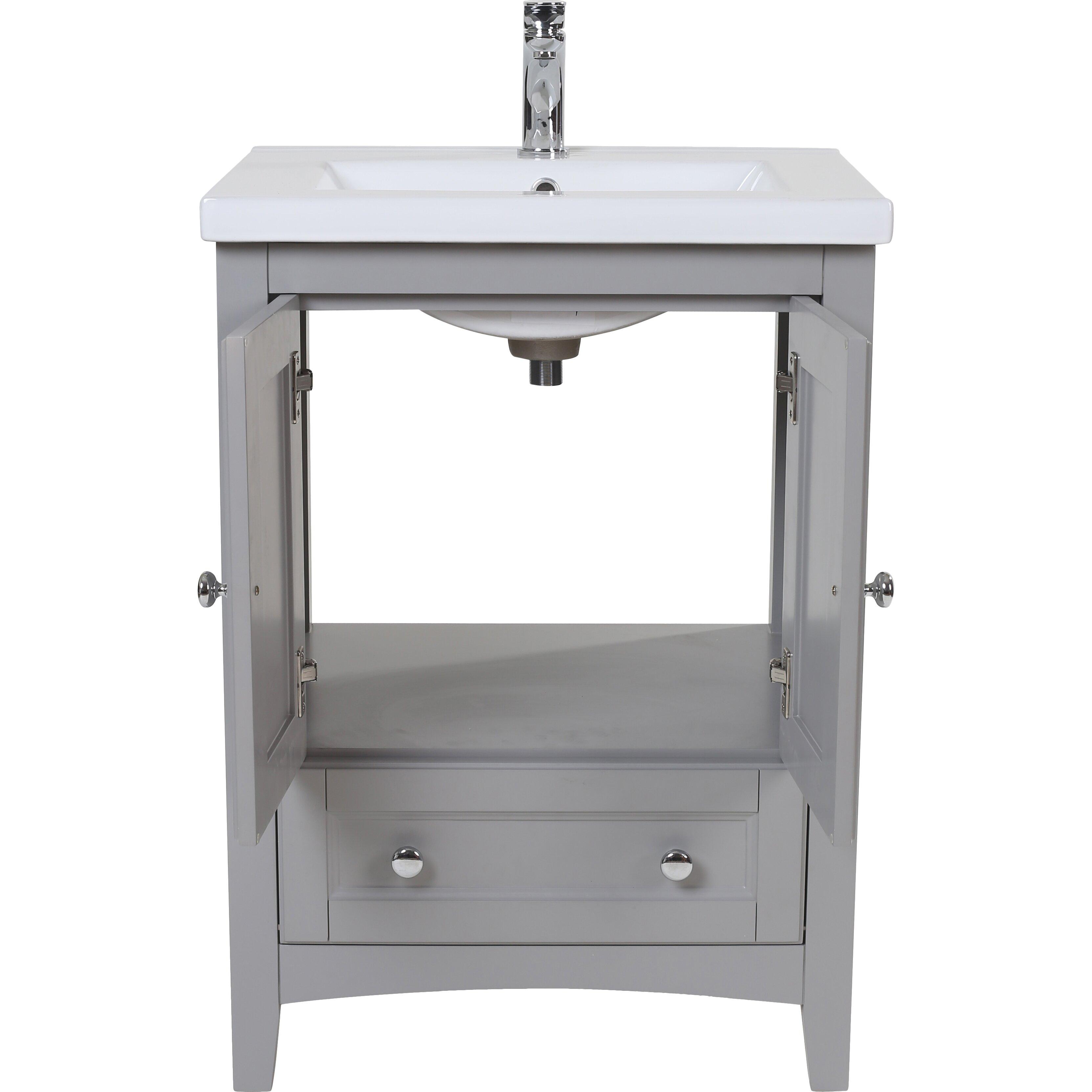 elegant lighting danville 24quot single bathroom vanity set - Ensemble Vanite Armoire