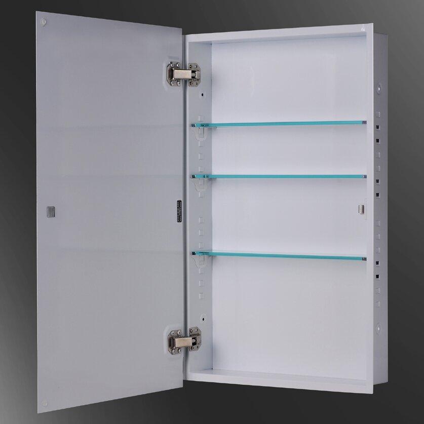 ketcham medicine cabinets euroline 18 quot x 24 quot recessed medicine cabinet
