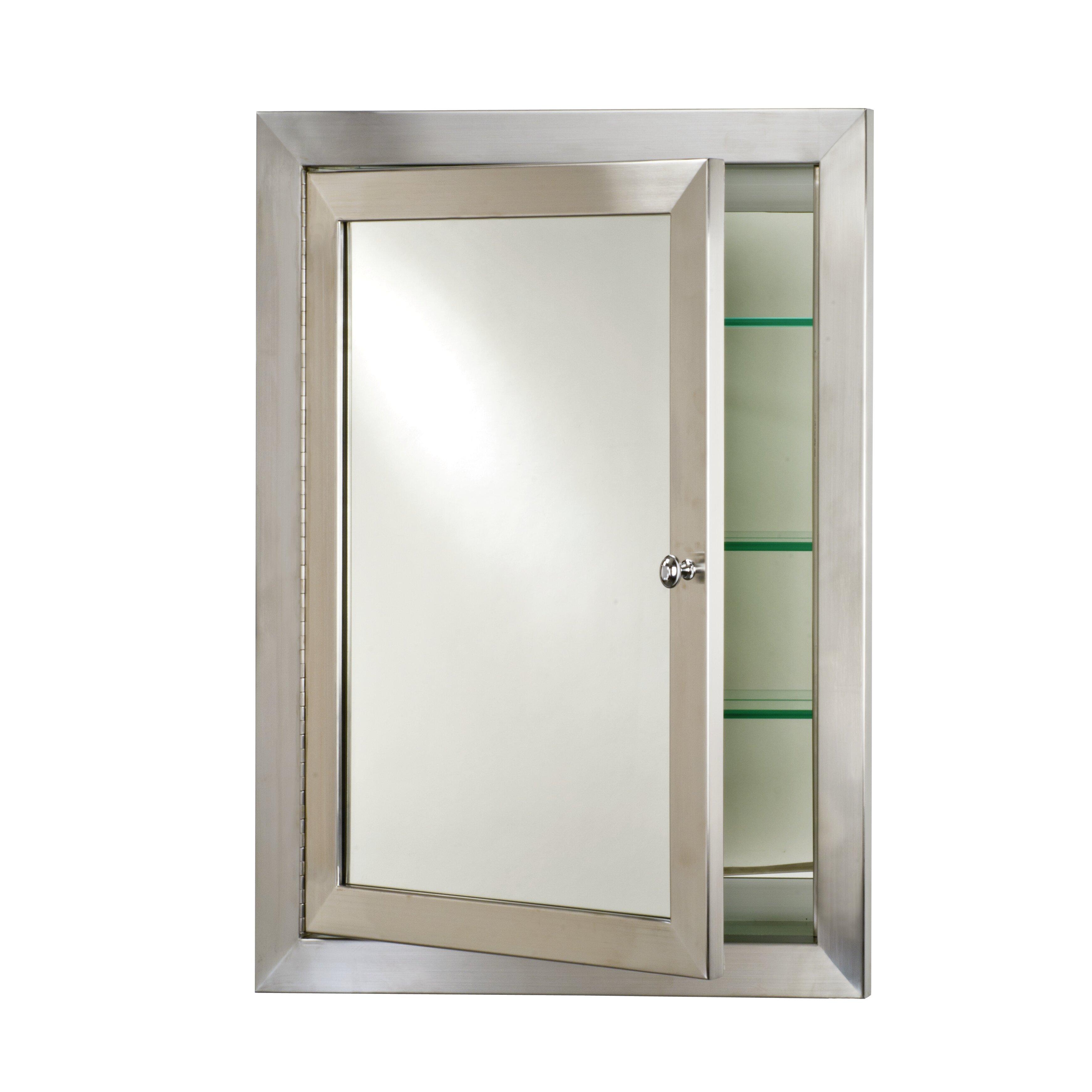 Recessed Bathroom Medicine Cabinets Deep Medicine Cabinet Wayfair