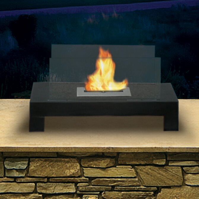 Anywhere Fireplaces Bio Ethanol Tabletop Fireplace Reviews Allmodern