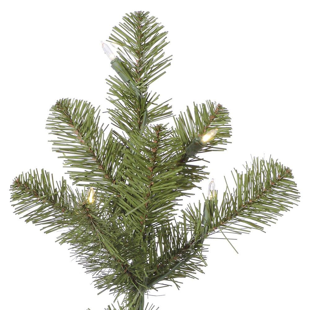 Country Kitchen Ontario Oregon Vickerman Ontario Slim 75 Green Spruce Artificial Christmas Tree