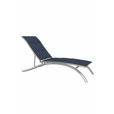 Tropitone south beach chaise lounge wayfair for Beach lounge chaise