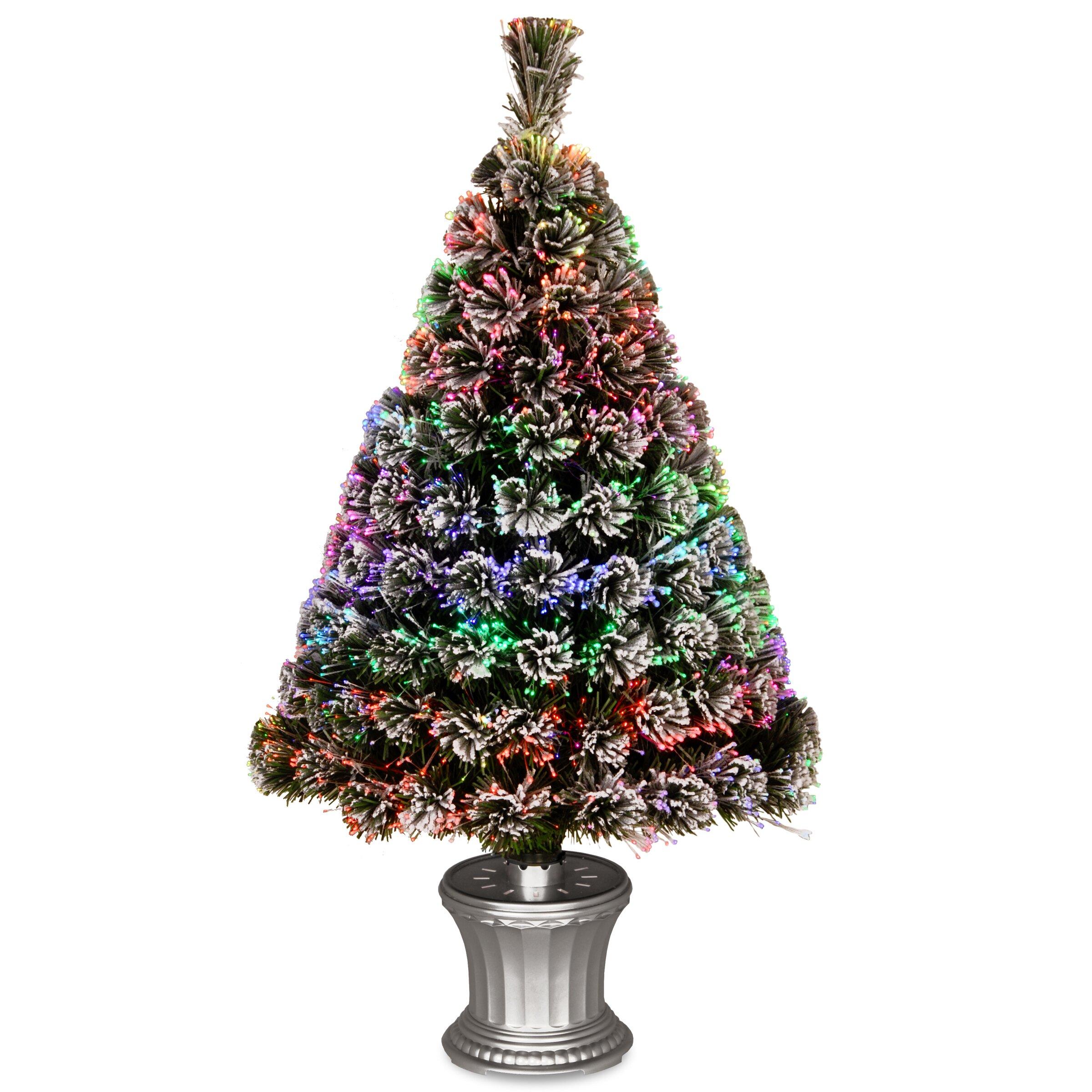National Tree Co Fiber Optics 3 Artificial Christmas