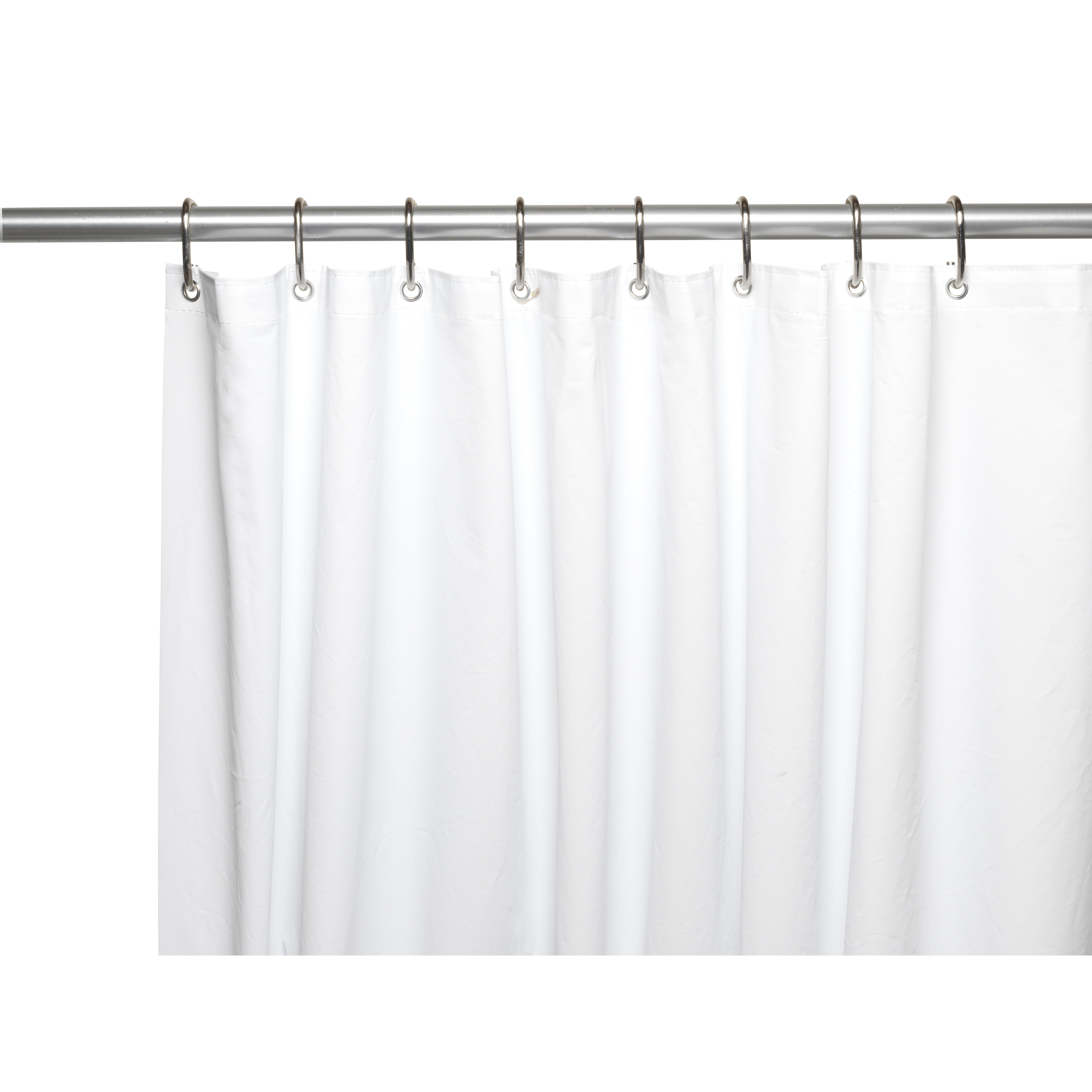 how to clean white shower curtain