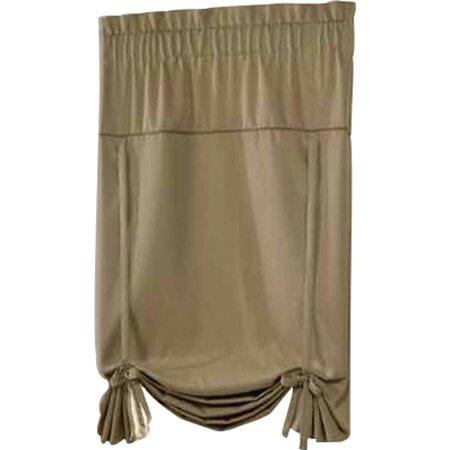 United Curtain Co. Blackstone TieUp Shade Single Curtain Panel Reviews Wayfair