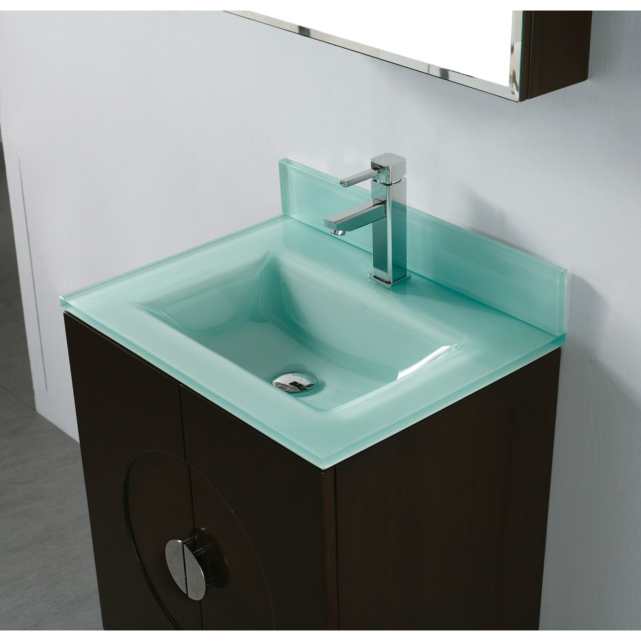 Countertop Lavatory Sink : Madeli Tempered Glass Countertop Bathroom Sink & Reviews Wayfair