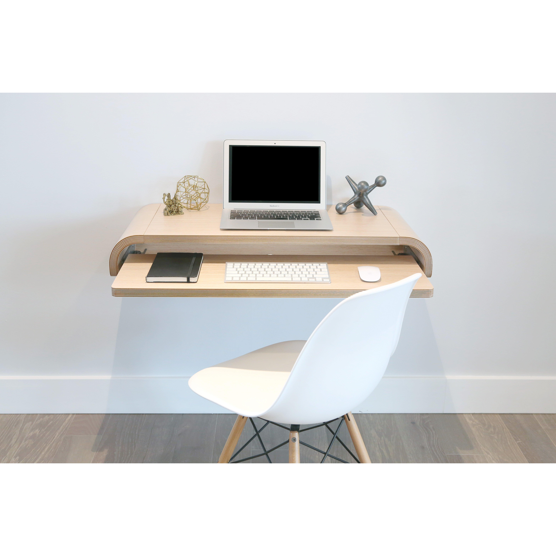 Orange22 Floating Desk Orange22 Minimal Floating Desk