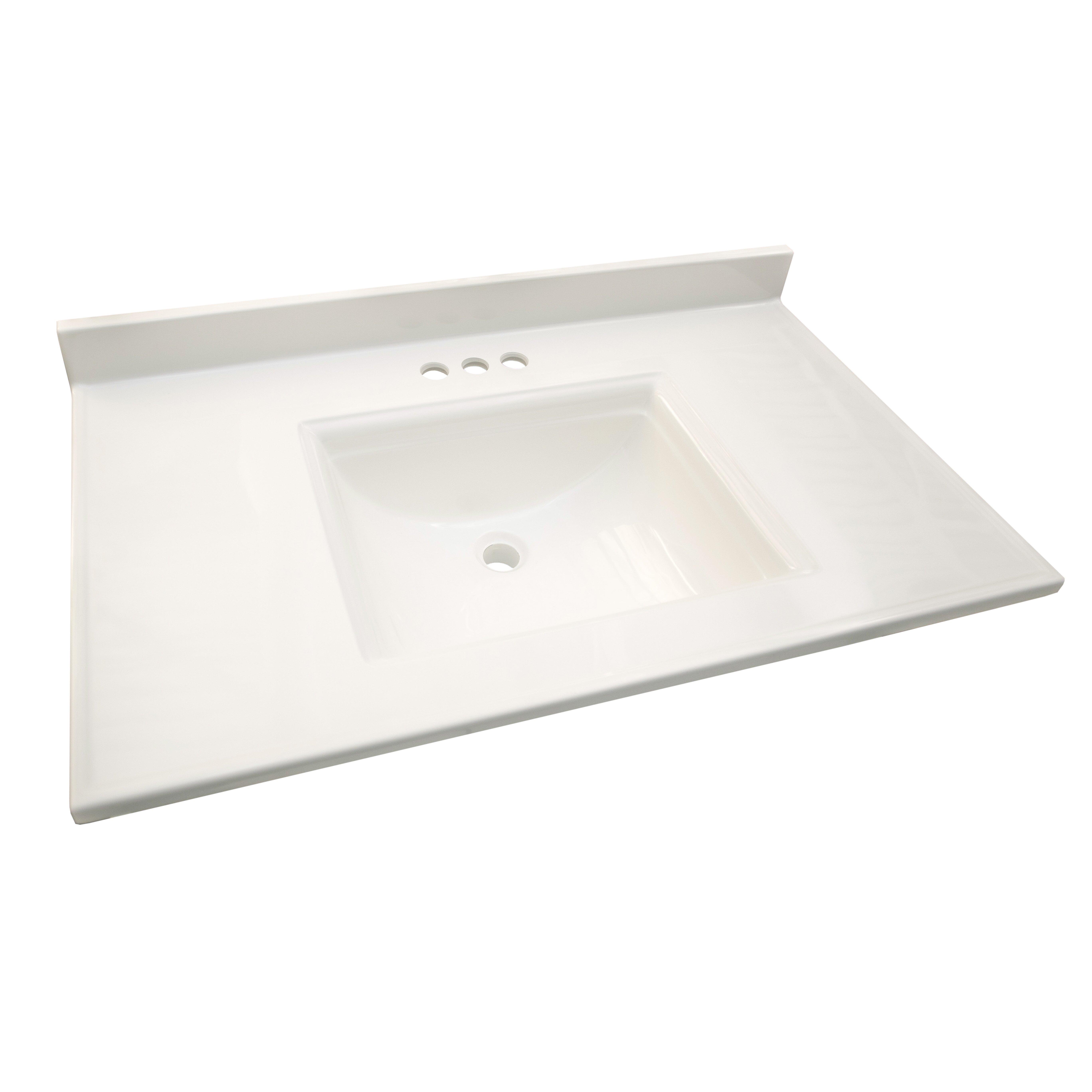 design house camilla 77 quot single bathroom vanity top
