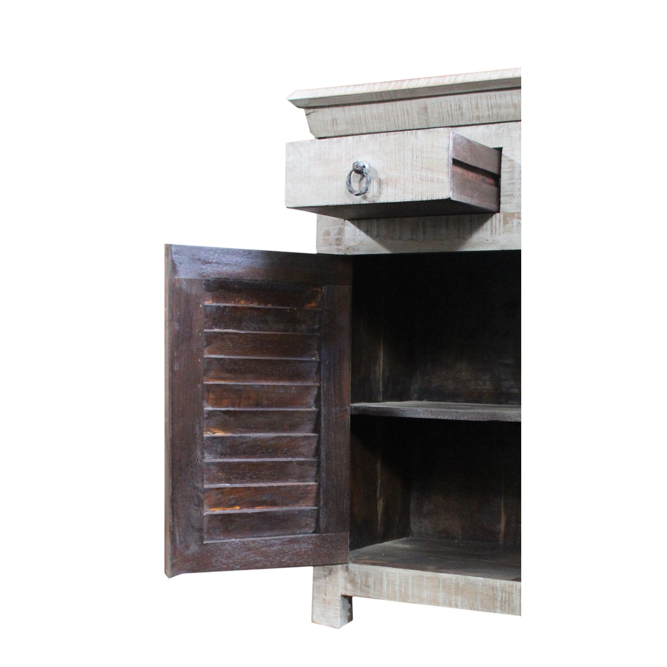 MOTI Furniture 3 Drawer Buffet & Reviews