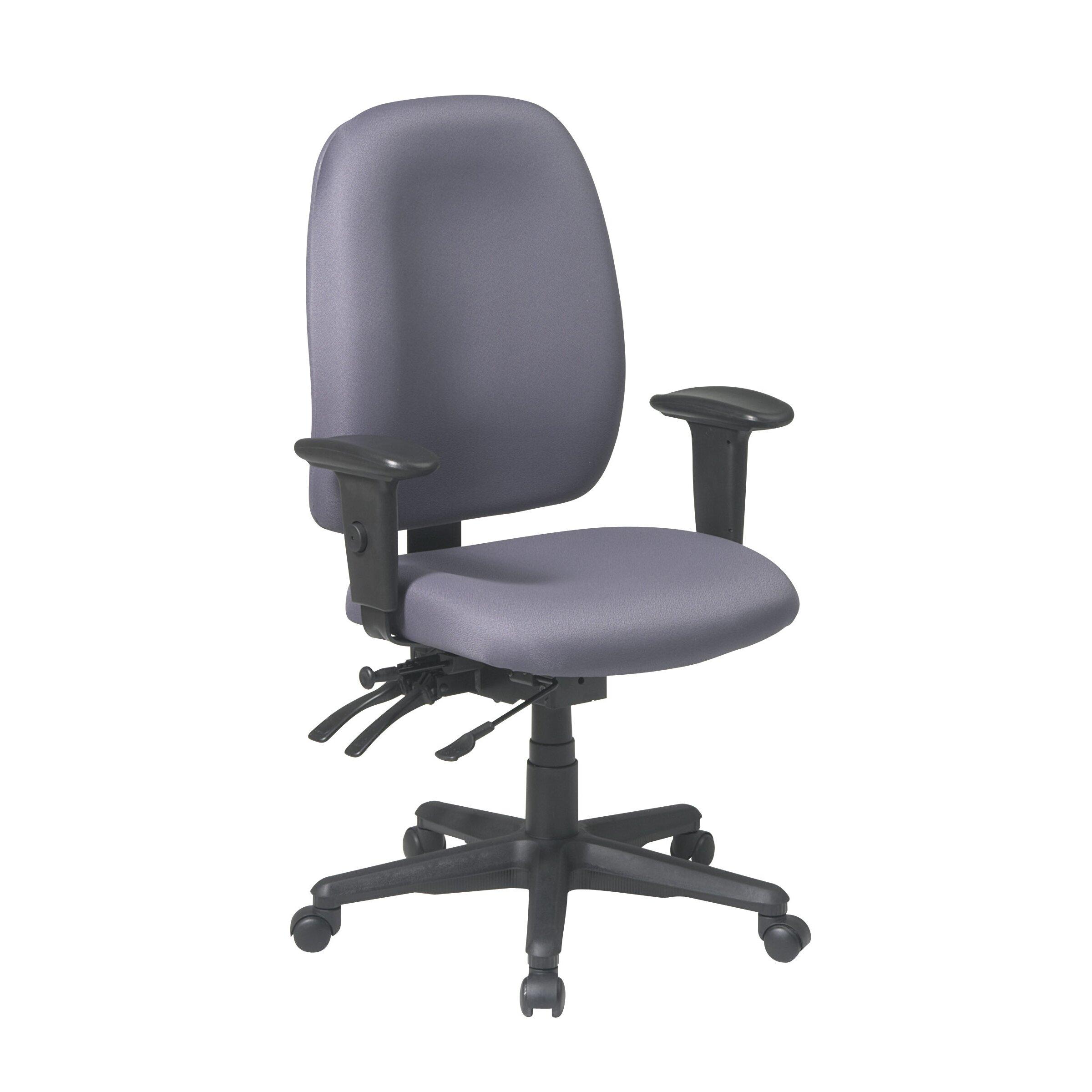 office star ergonomic high back desk chair reviews wayfair. Black Bedroom Furniture Sets. Home Design Ideas