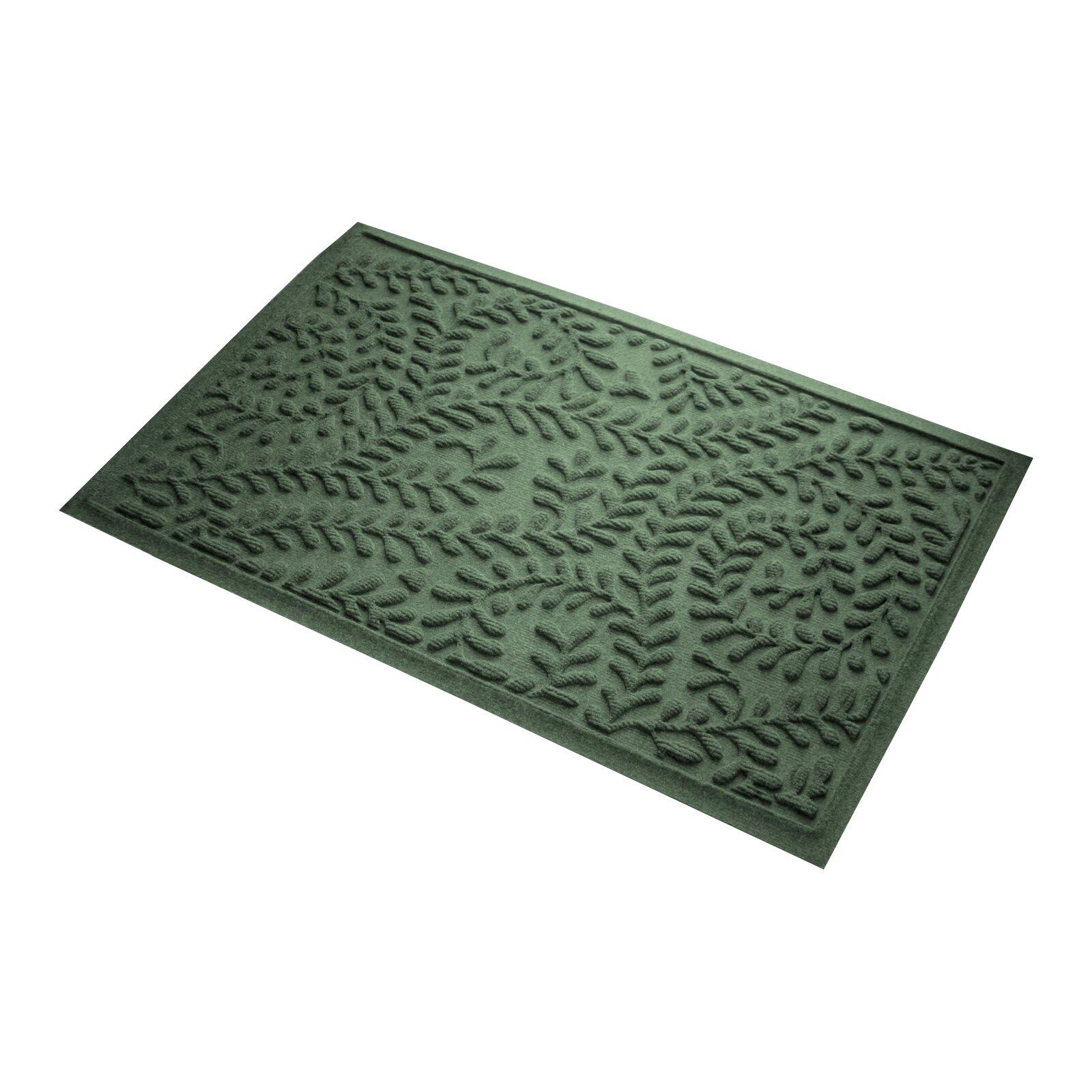 Bungalow Flooring Aqua Shield Boxwood Doormat & Reviews