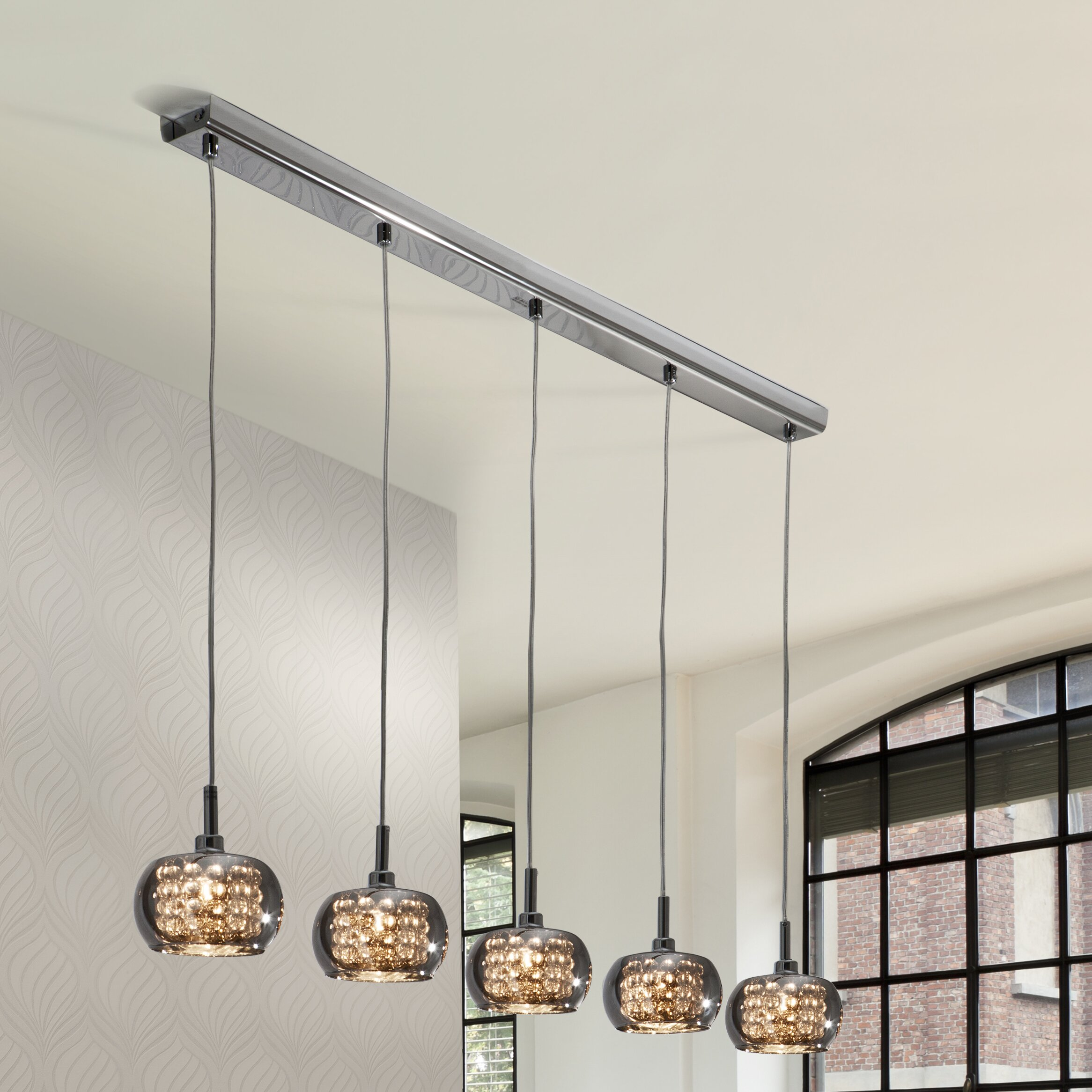 Schuller Arian 5 Light Kitchen Island Pendant & Reviews