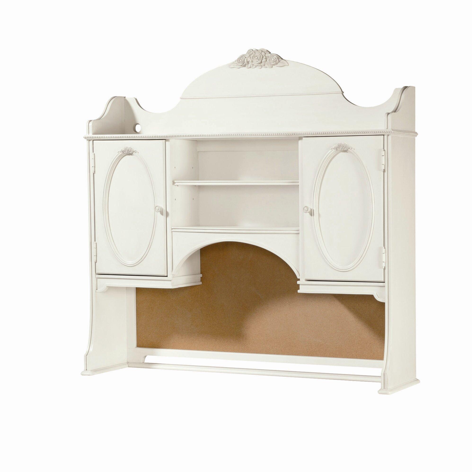 smartstuff furniture gabriella vanity desk with hutch reviews vanity desk