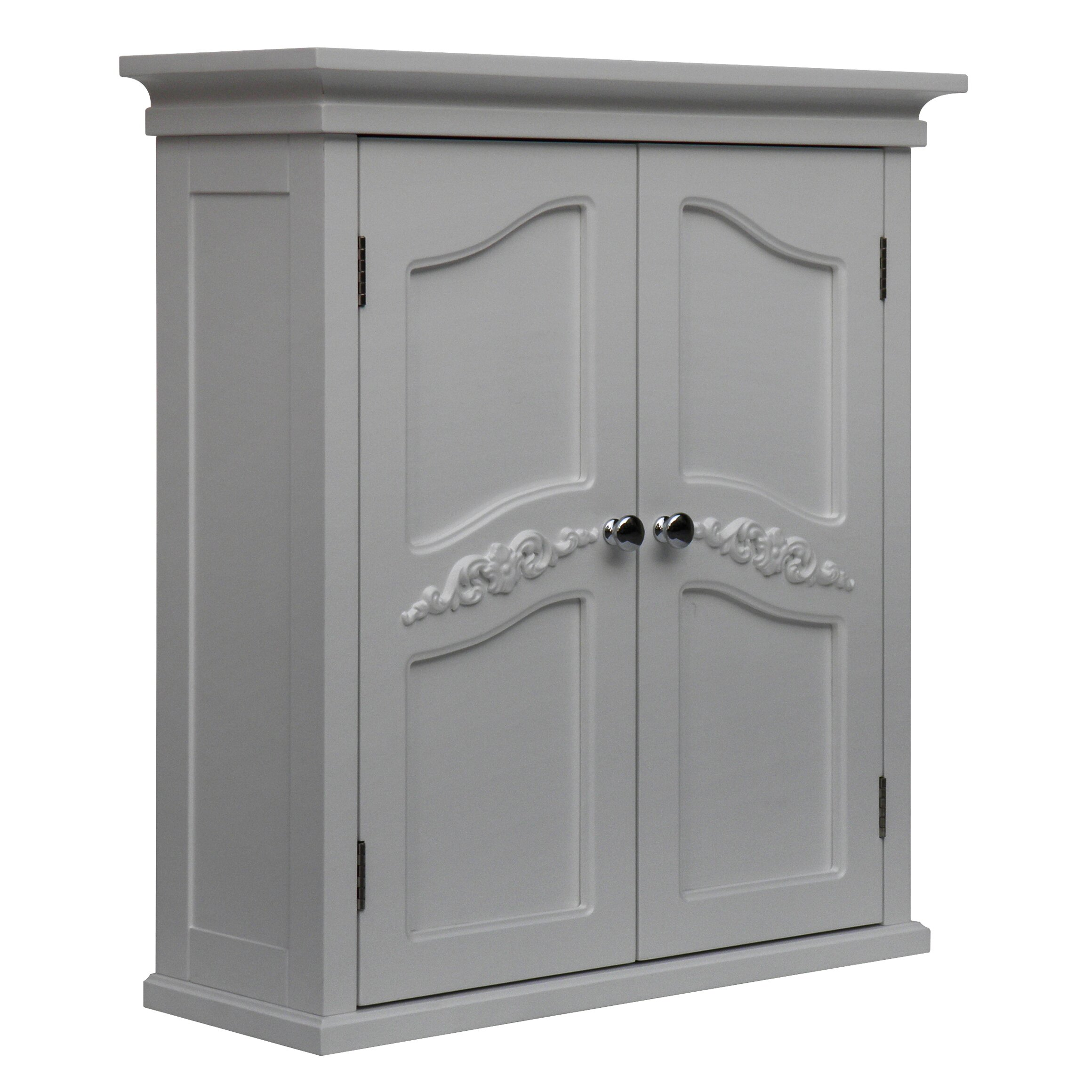 cabinets on wheels home fashions versailles 22 quot w x 24 quot h wall 13159