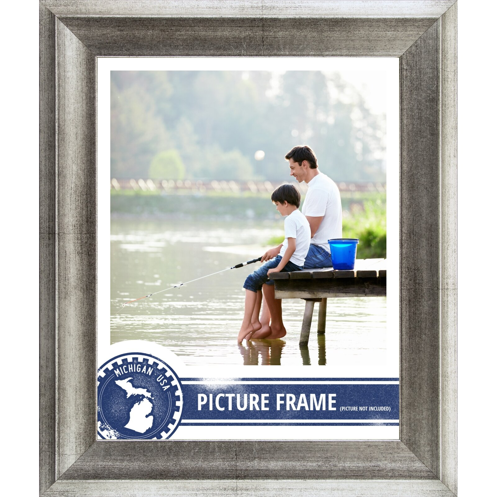 craig frames inc 15 wide distressed picture frame poster frame