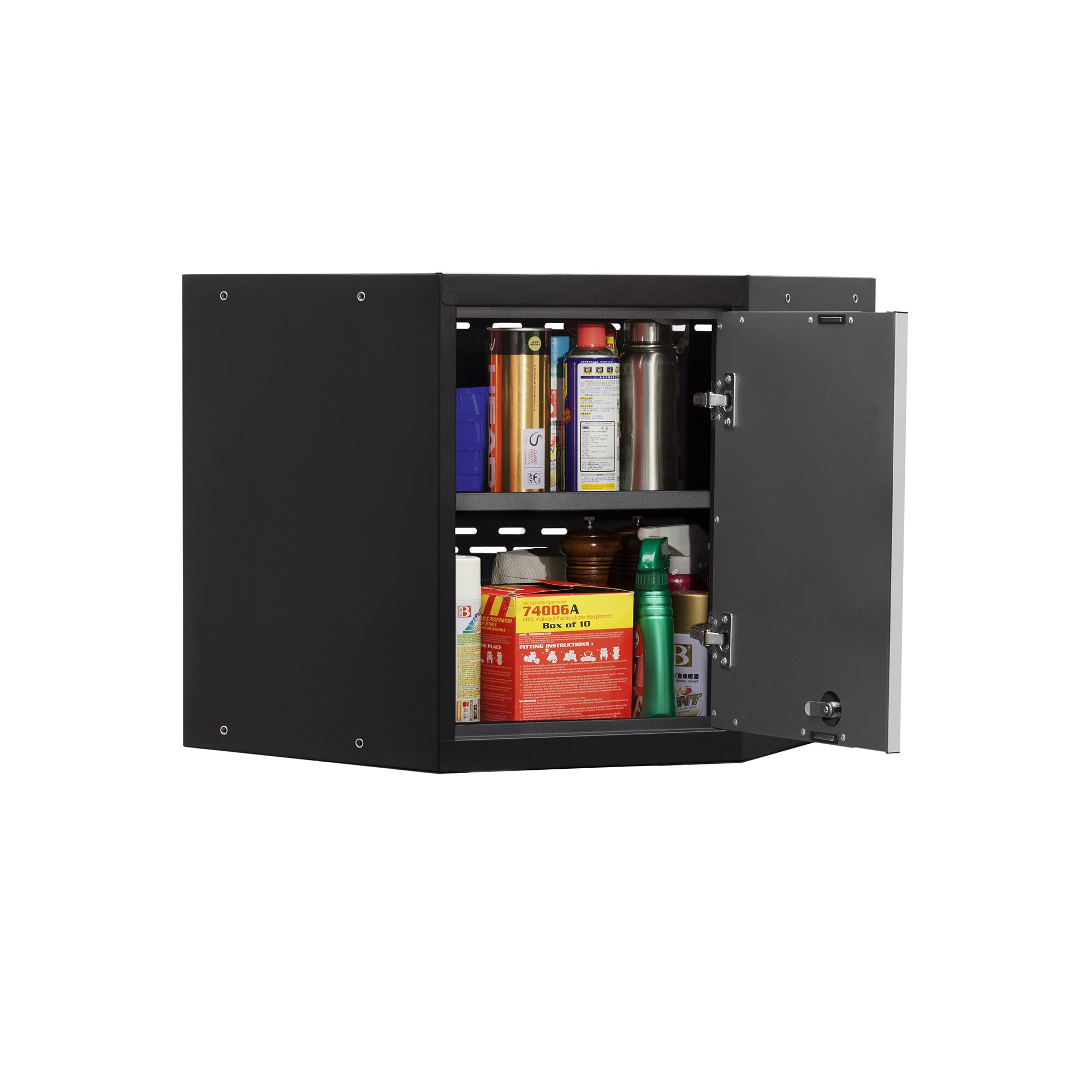 Newage Products Pro 3 0 Series Corner Wall Cabinet