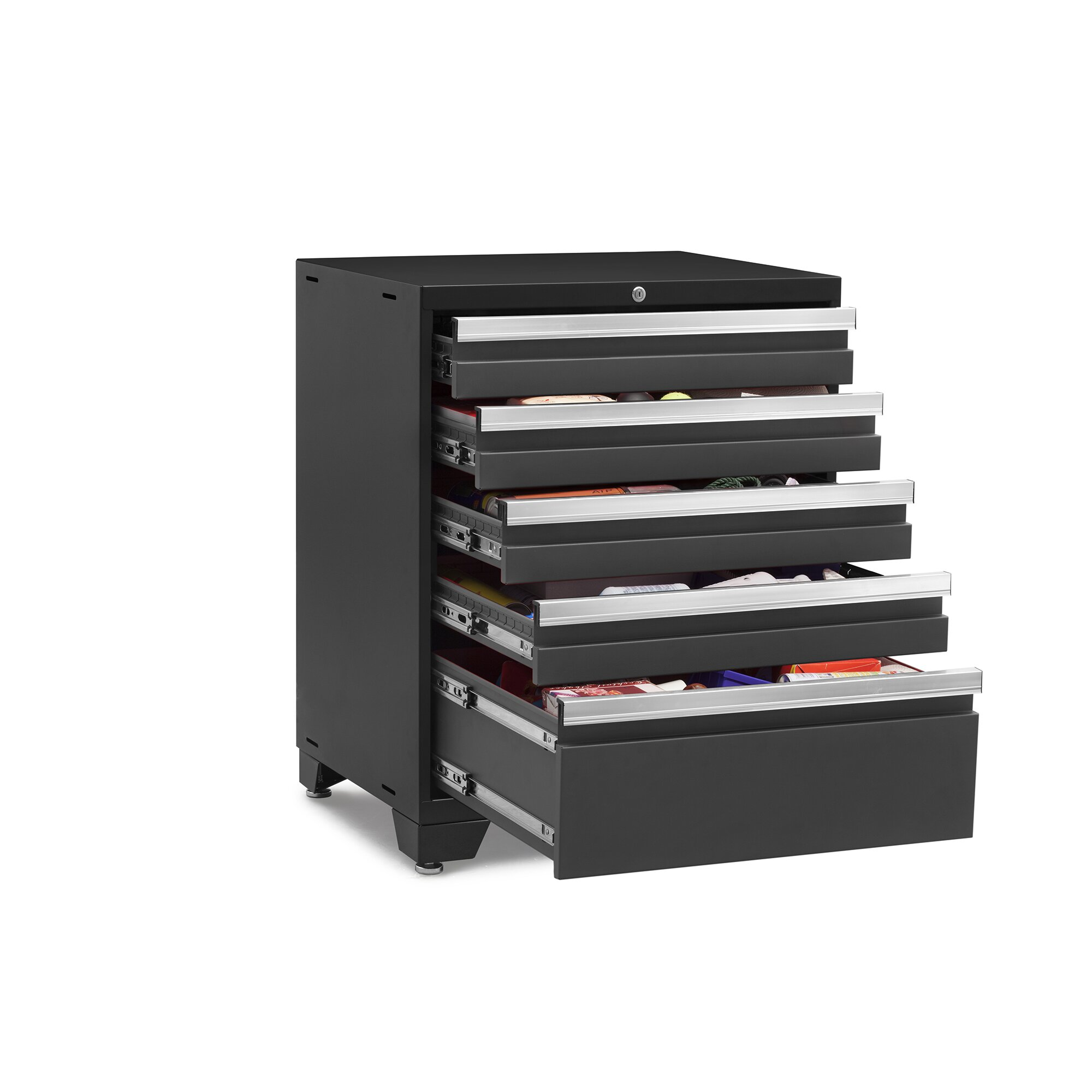 Newage Products Pro 3 0 Series 28 Quot W 5 Drawer Side Chest